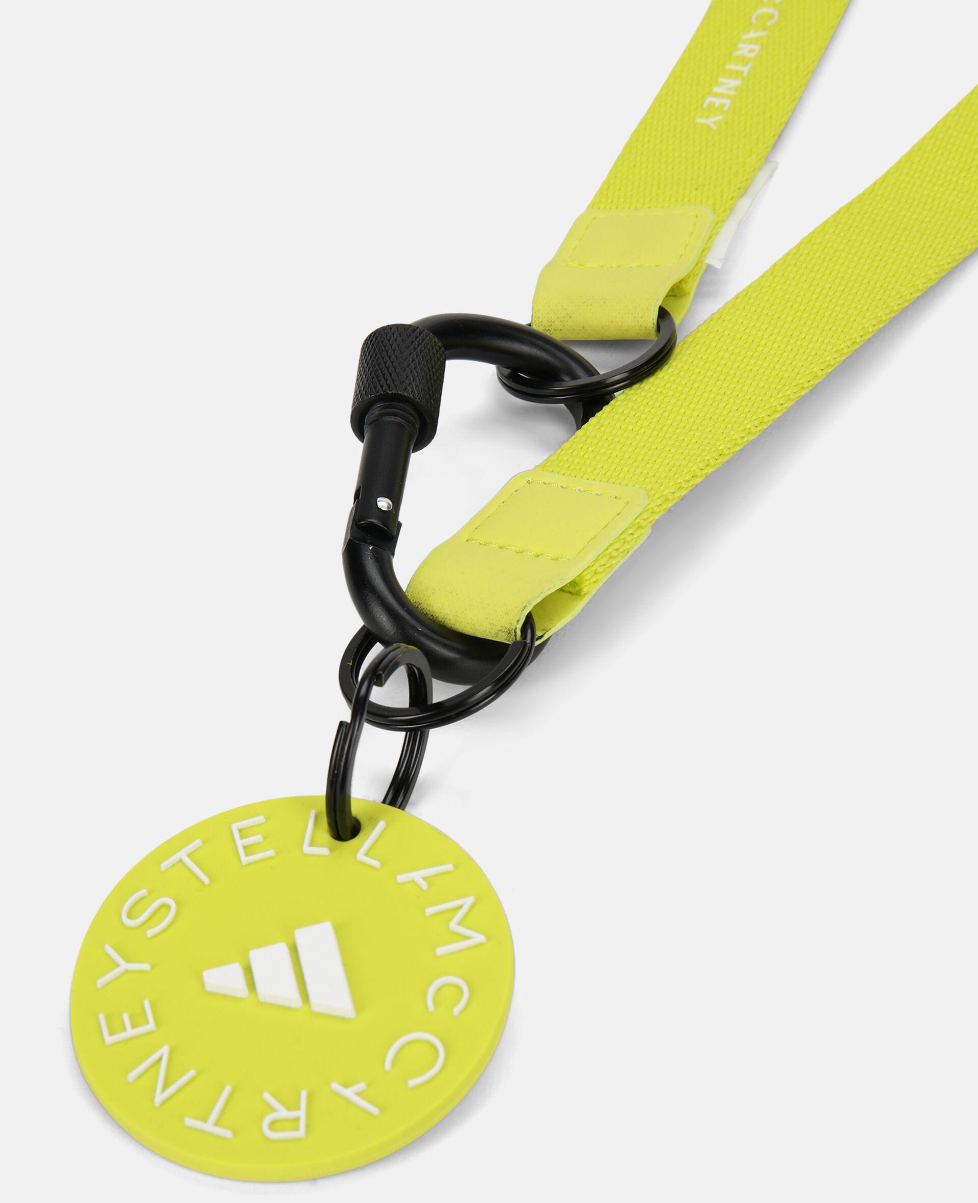 Yellow Running Lanyard-Yellow-large image number 1