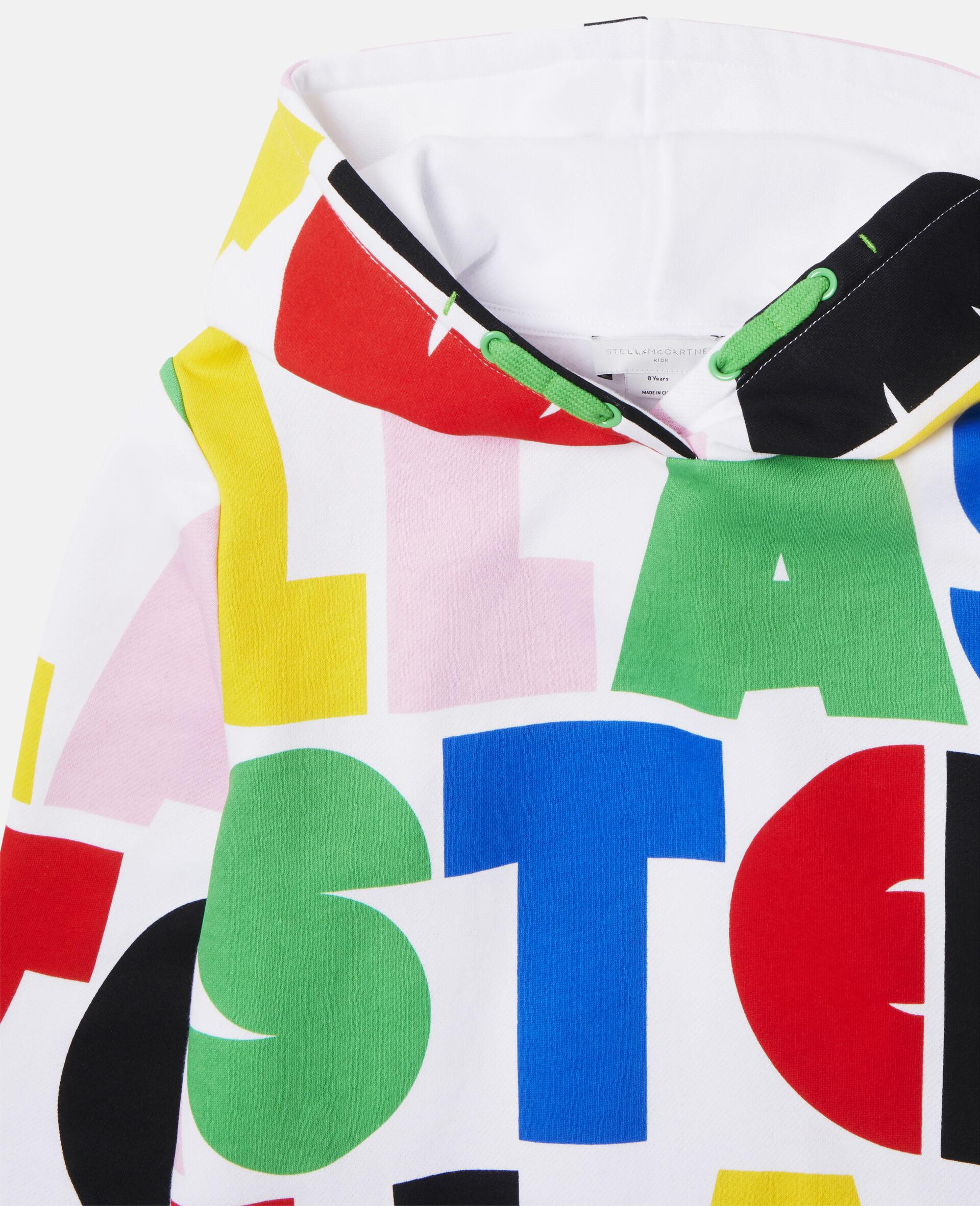 Stella Oversize Fleece Hoodie-Multicolour-large image number 1