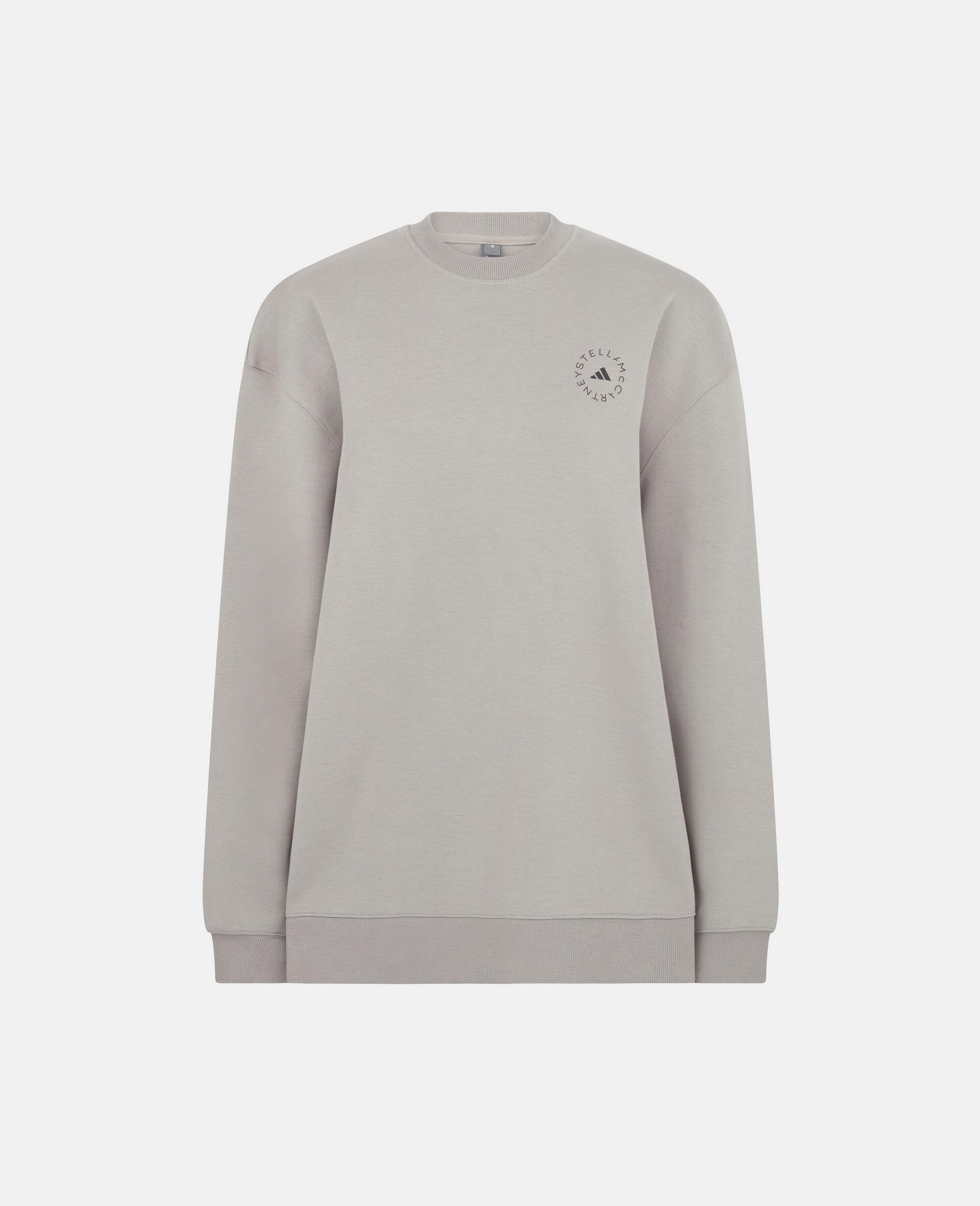 Graues Trainings-Sweatshirt-Grau-large image number 0
