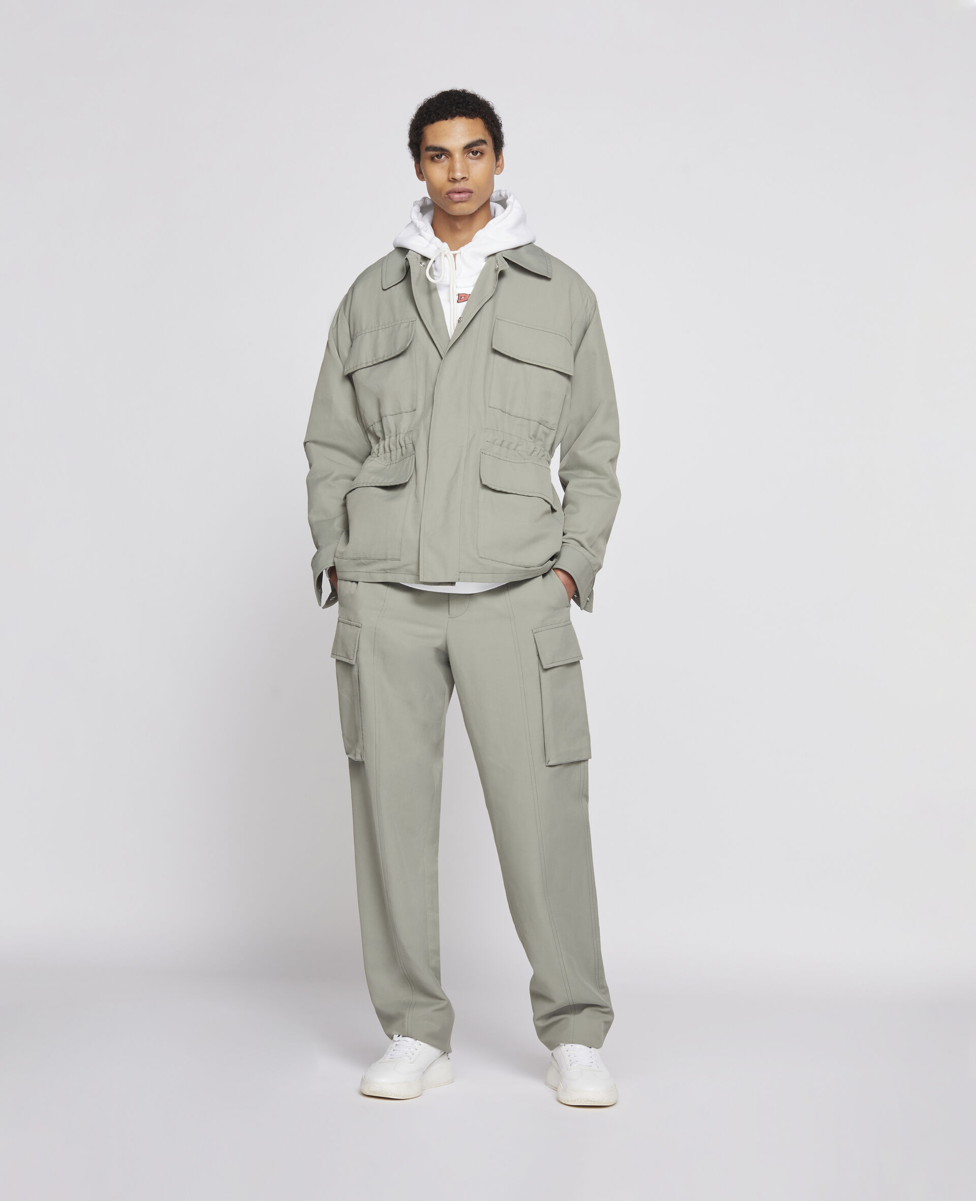 23 OBS Blouson -Green-large image number 1