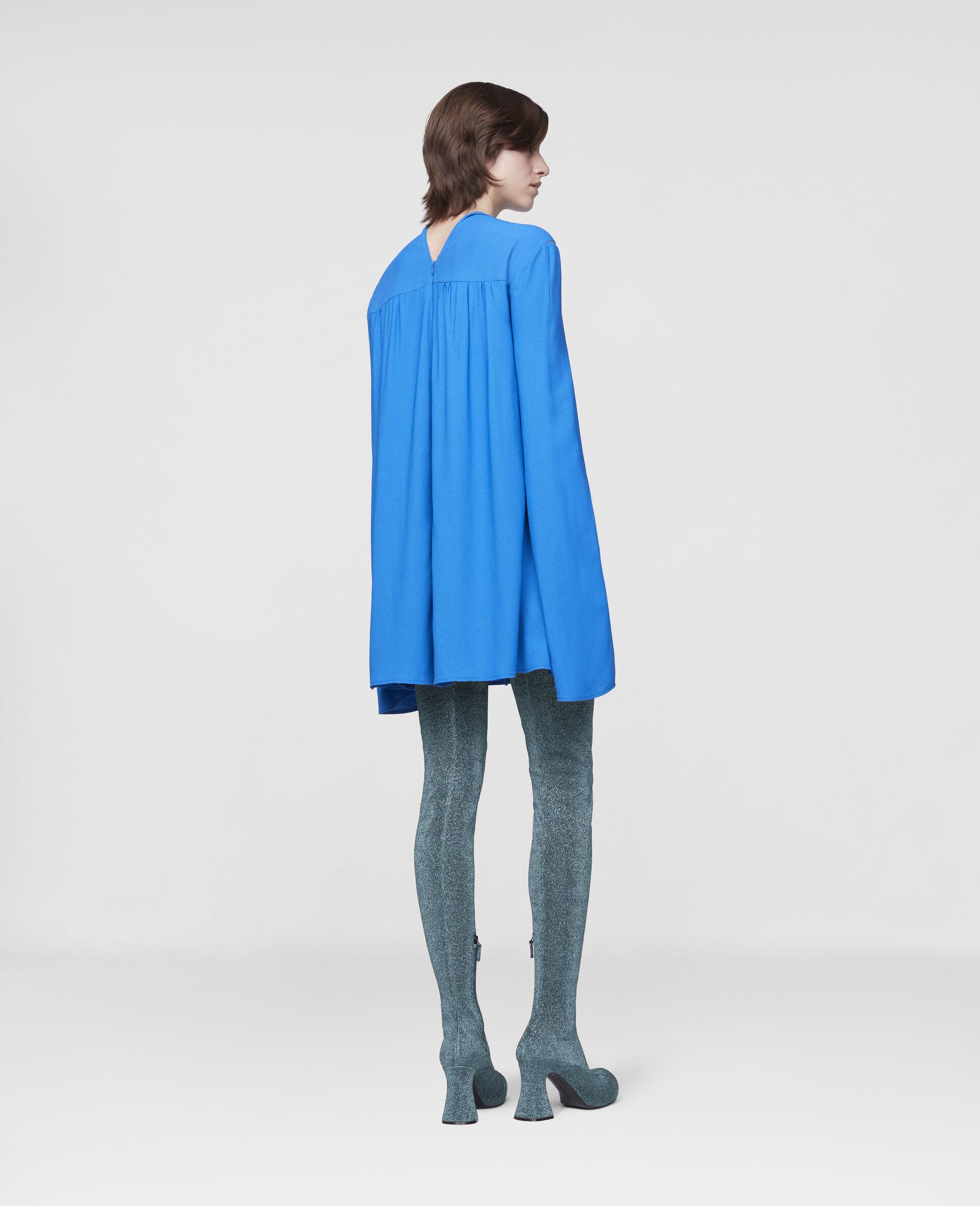 Cordelia Mini Dress-Blue-large image number 2