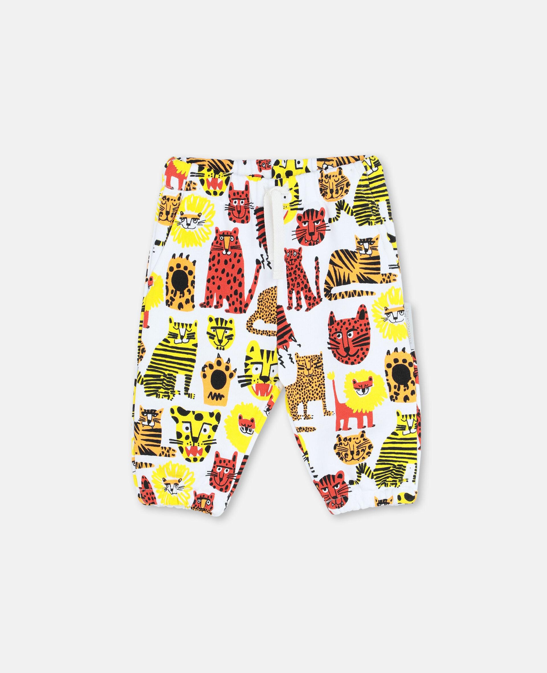 Pantaloni in Felpa Wild Cats -Giallo-large image number 0