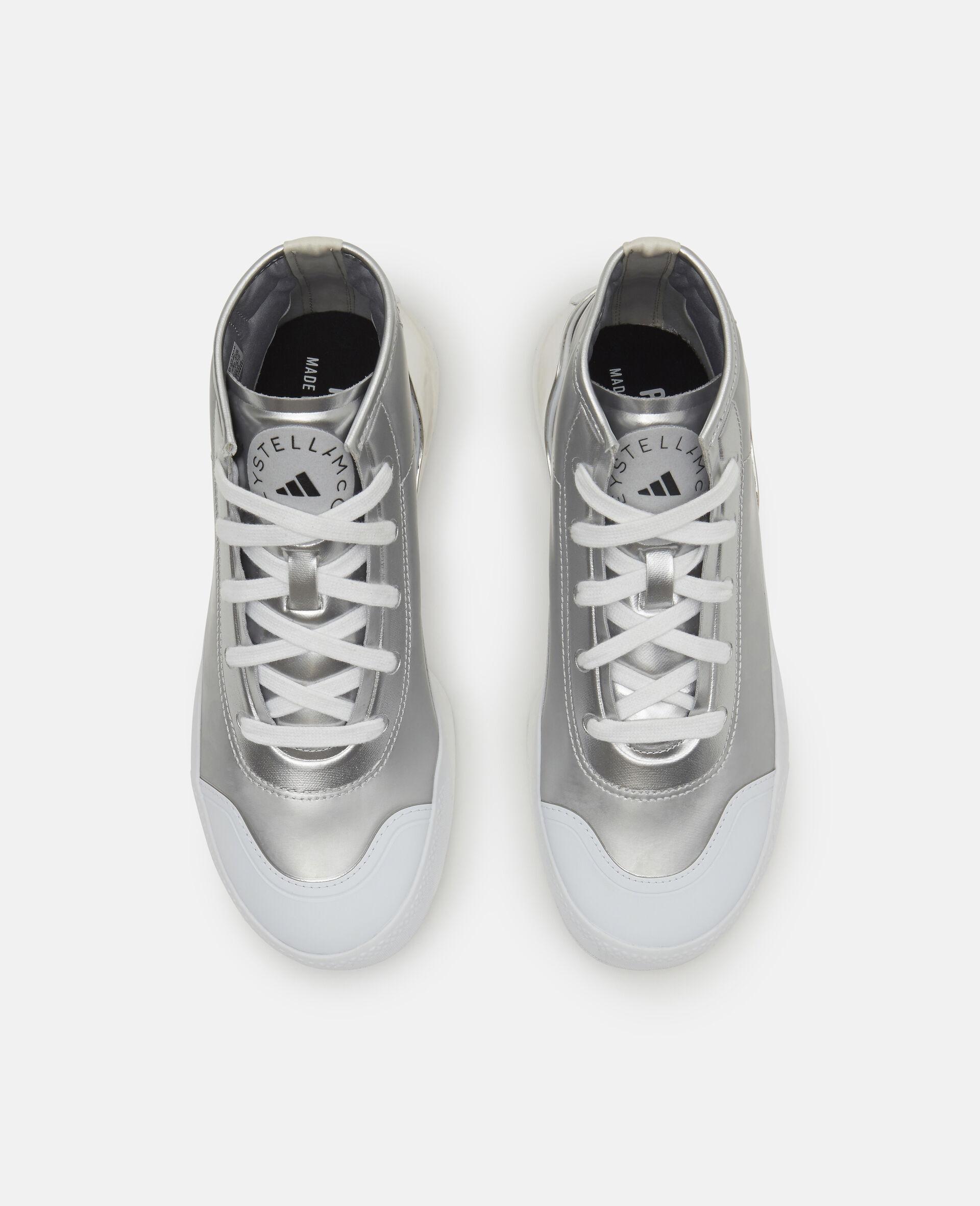 Metallic Treino Running Sneakers-Grey-large image number 5
