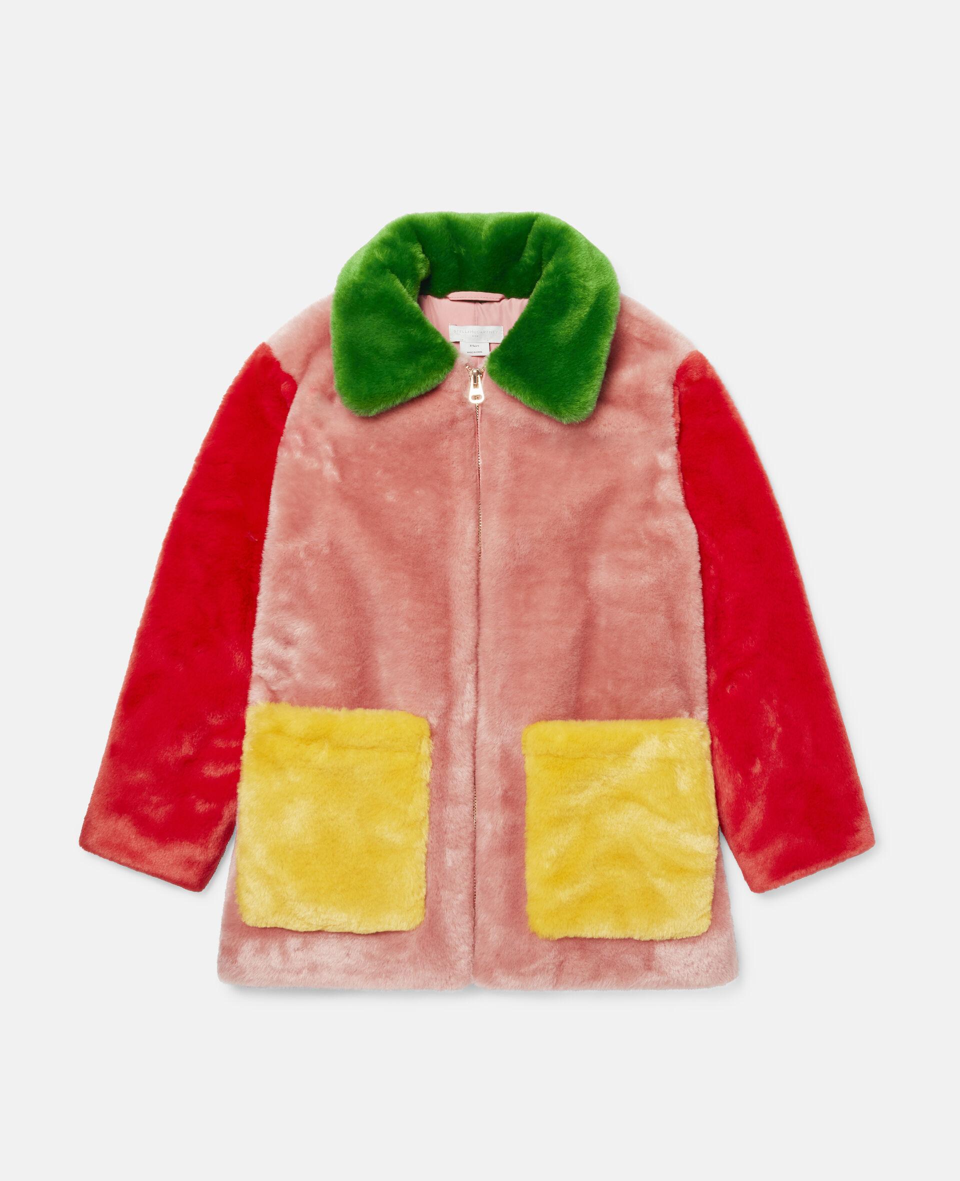 Mantel im Blockfarben-Design aus FFF-Bunt-large image number 0