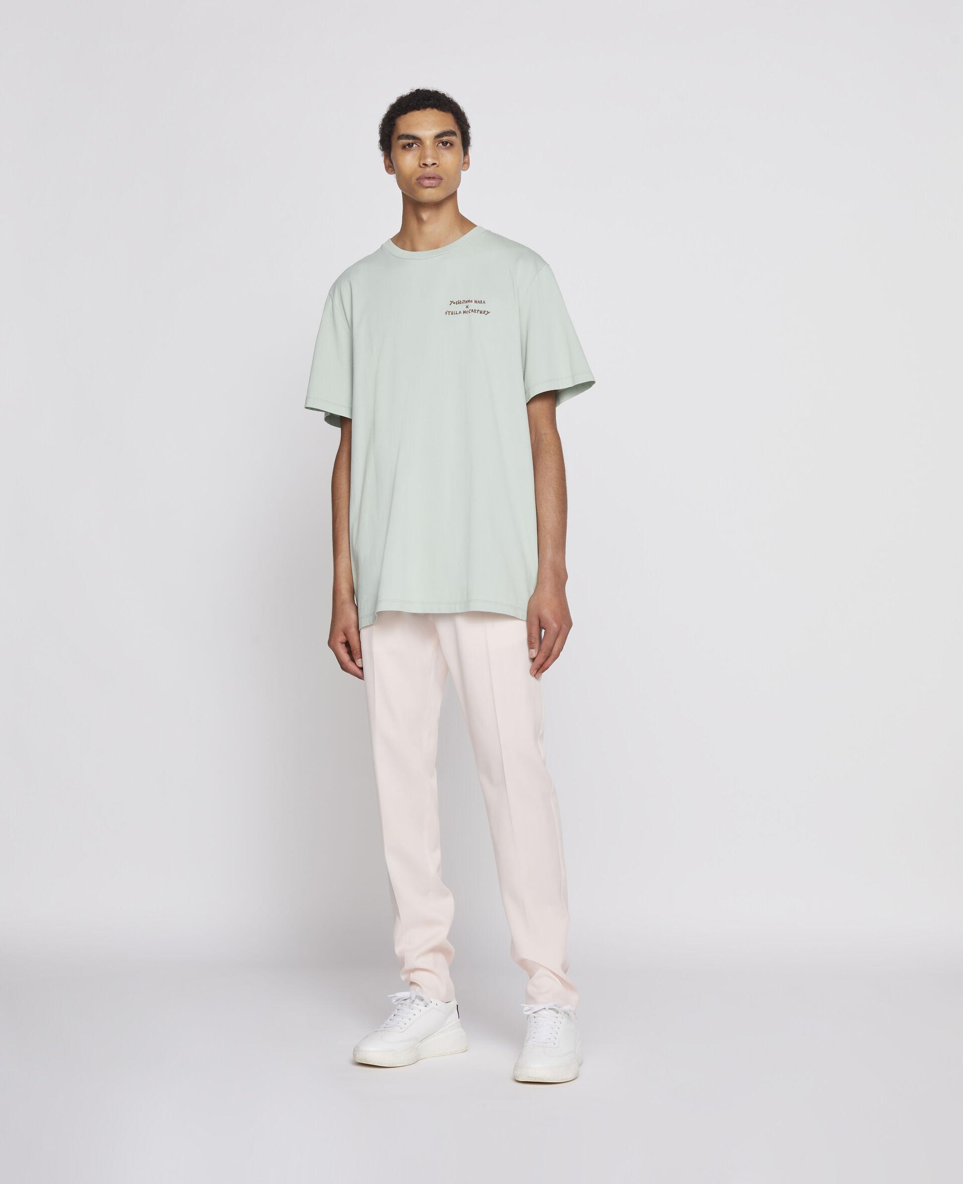 T-Shirt in Cotone Organico Nara -Verde-large image number 1