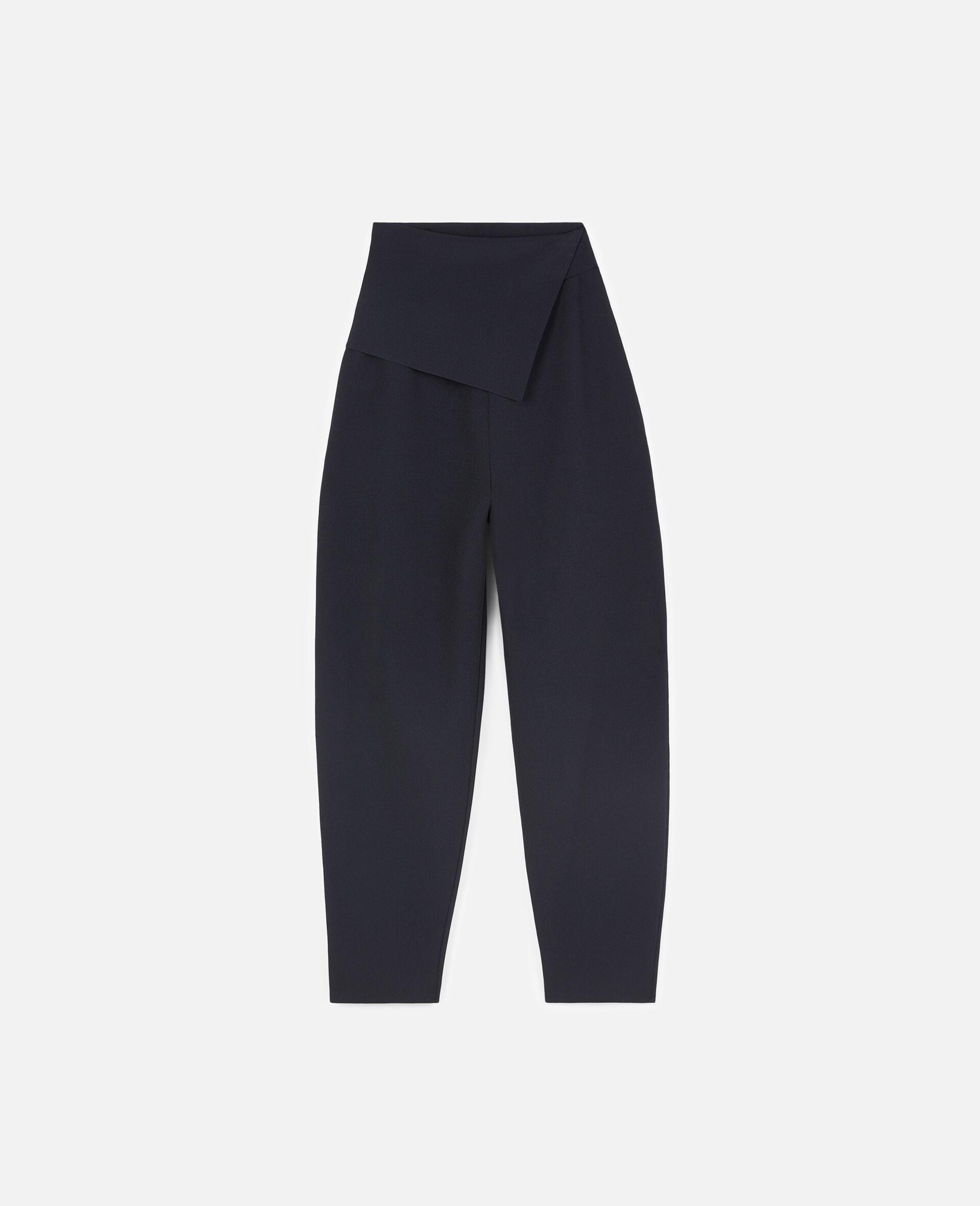 致密针织裤装-蓝色-large image number 0