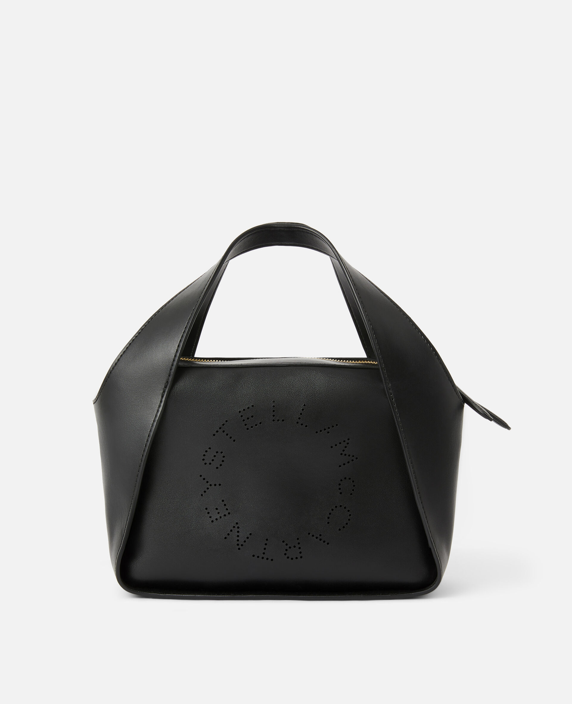 Tote Bag Stella Logo con Tracolla -Nero-large image number 0