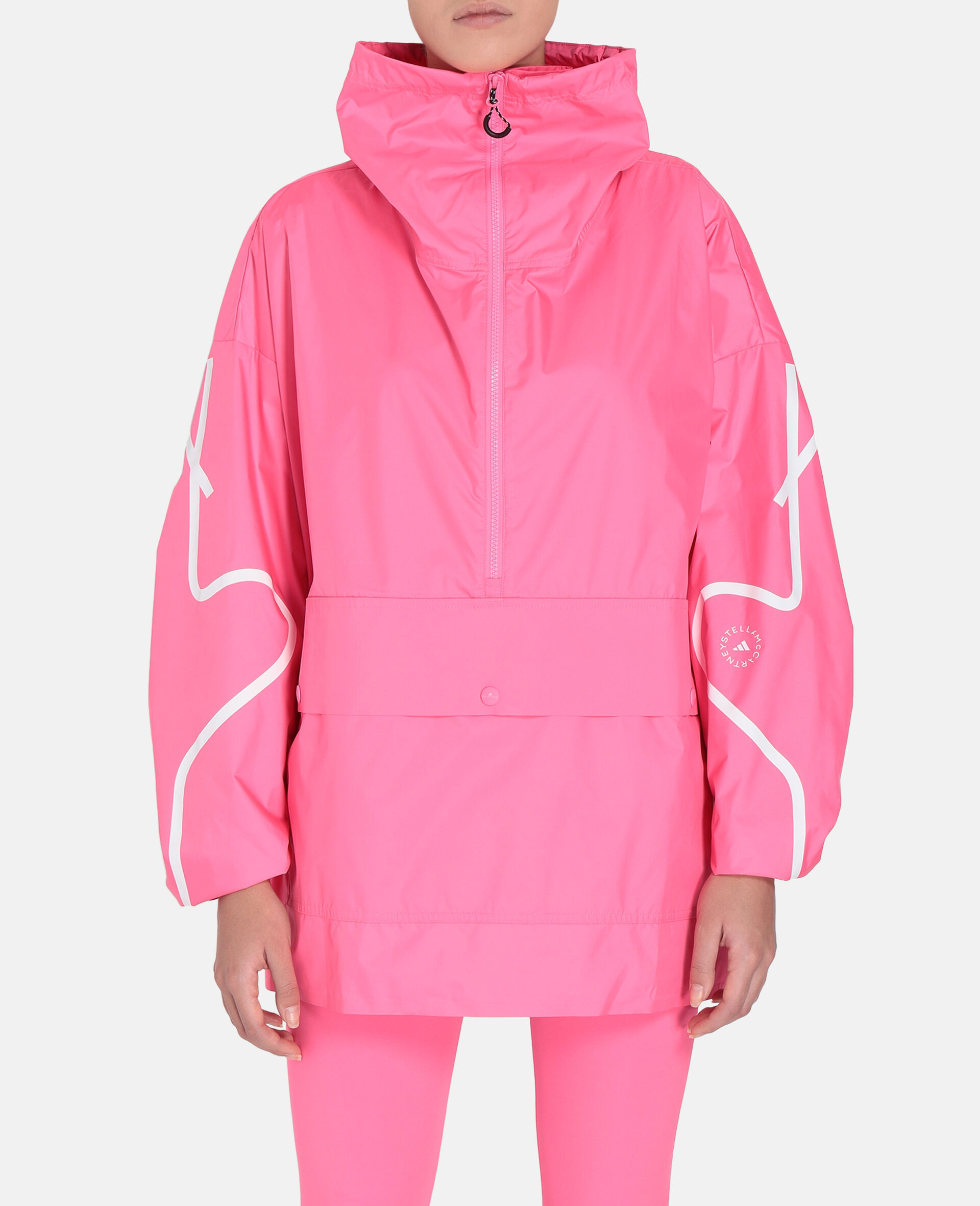 Pink Half-Zip Jacket-Pink-large image number 4
