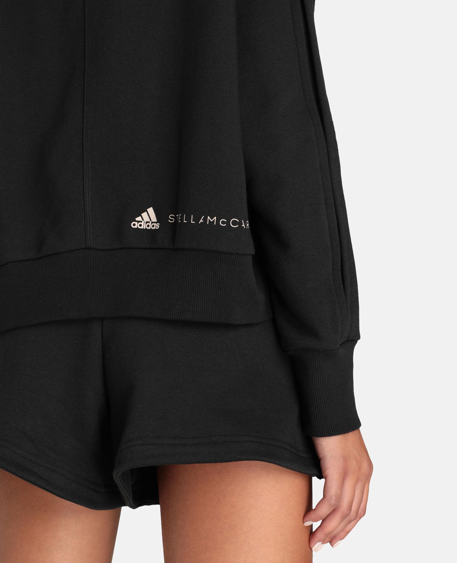 Sweat-shirt de sport noir-Noir-large image number 3