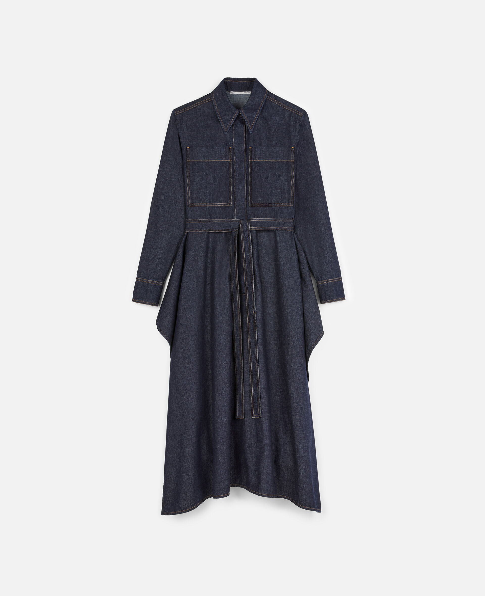 Riley Denim Dress -Blue-large image number 0