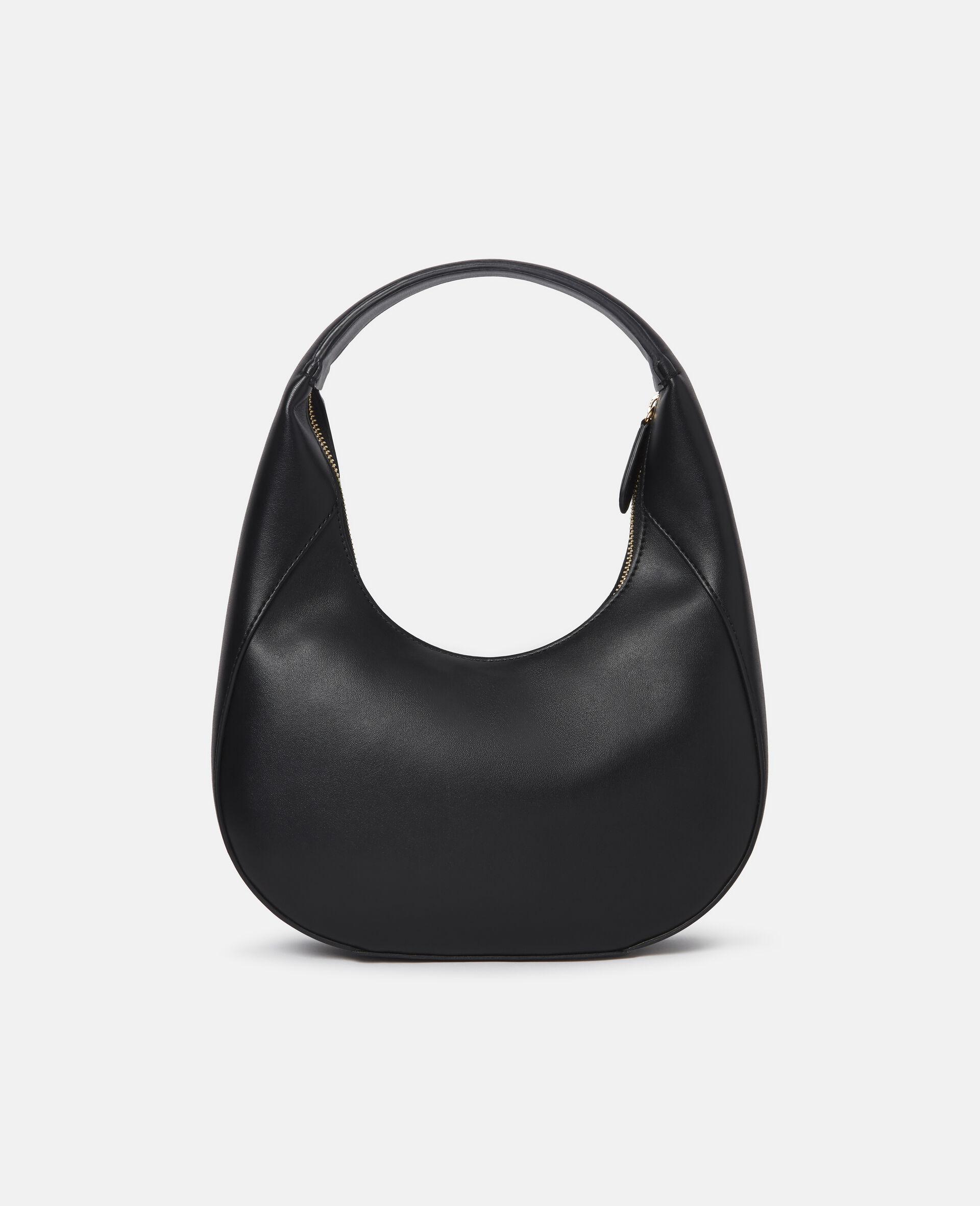 Small Stella Logo Shoulder Bag-Black-large image number 2