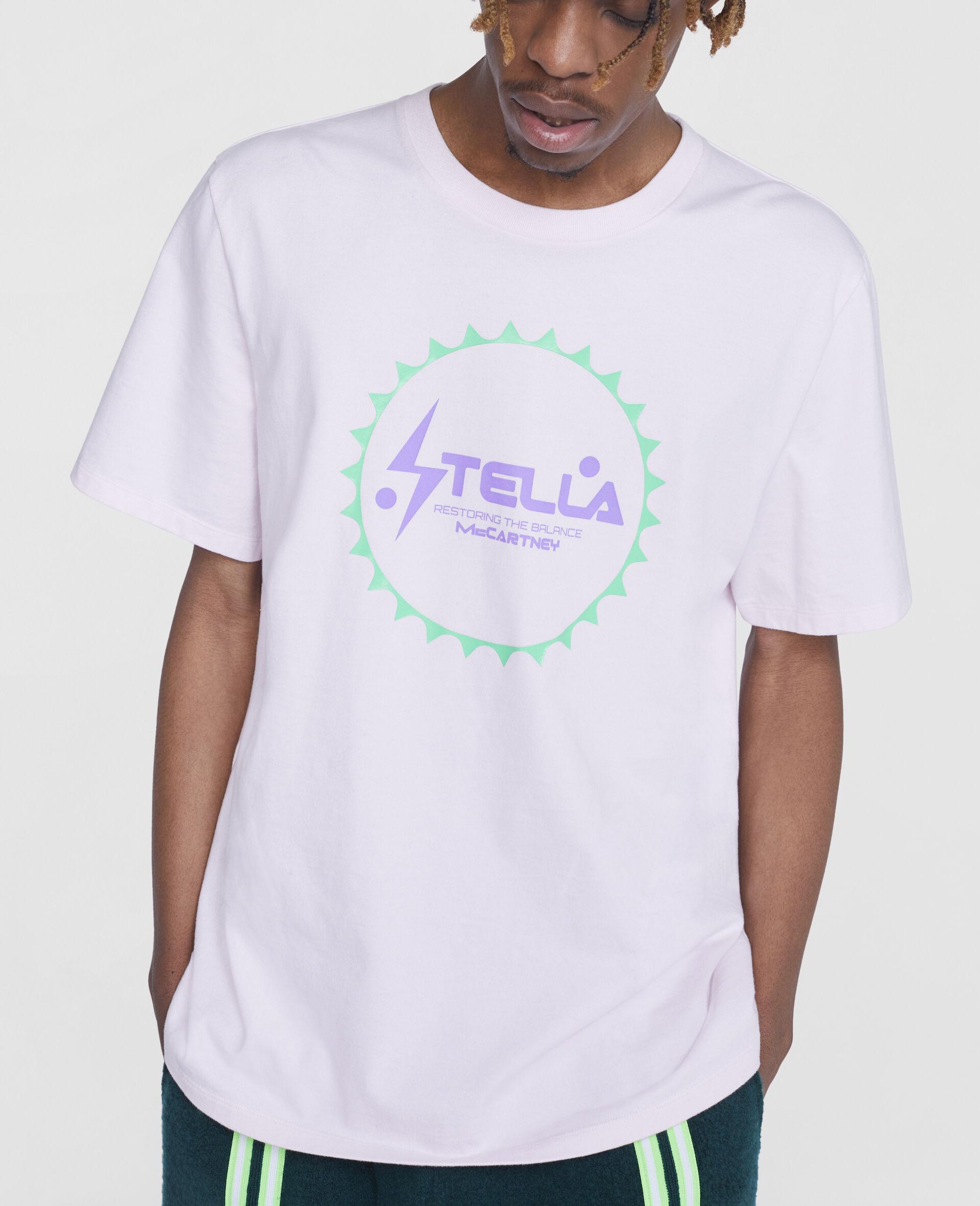 Tom Tosseyn Stella Logo T-Shirt-Pink-large image number 4
