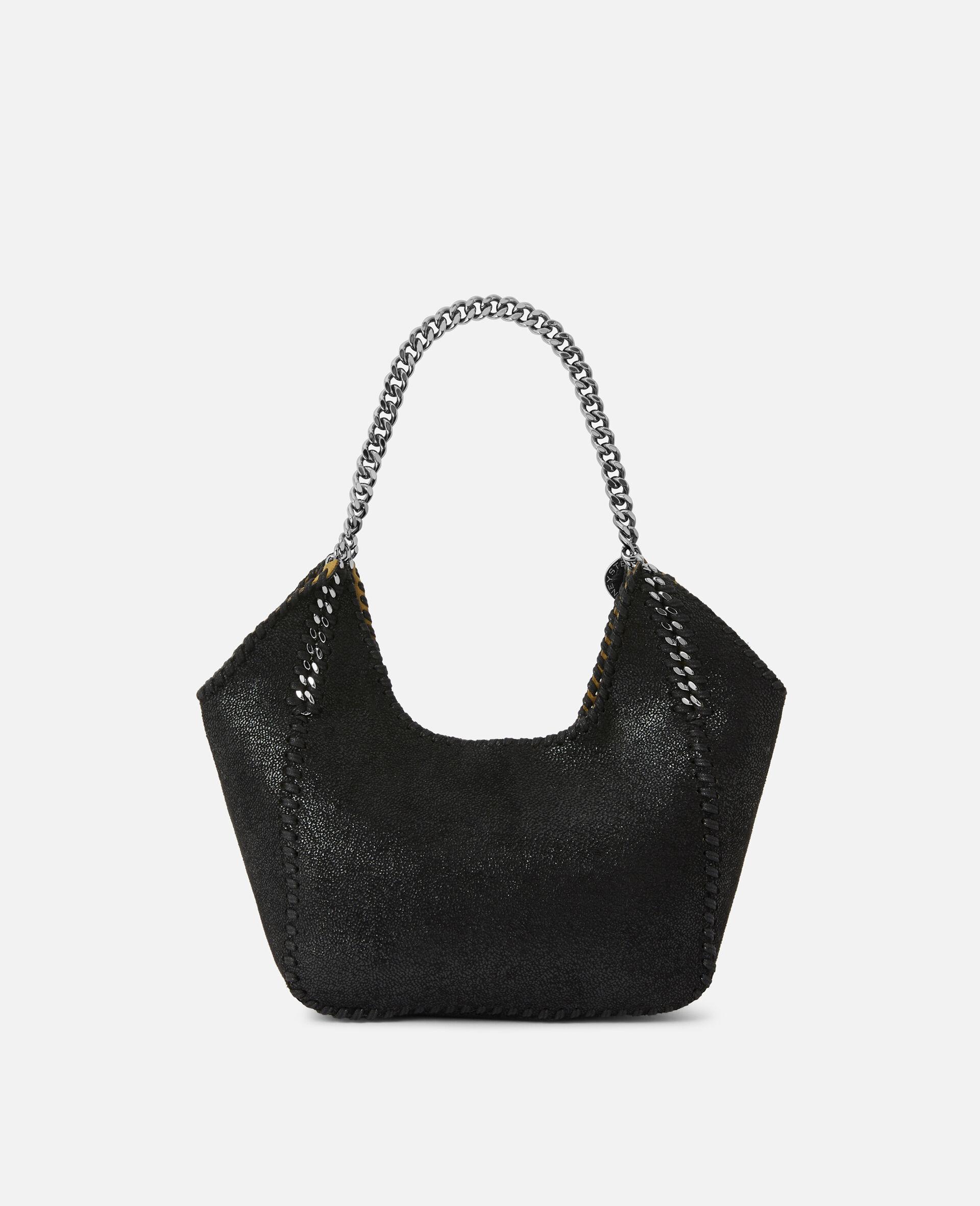Mini Falabella Tote Bag -Black-large image number 2
