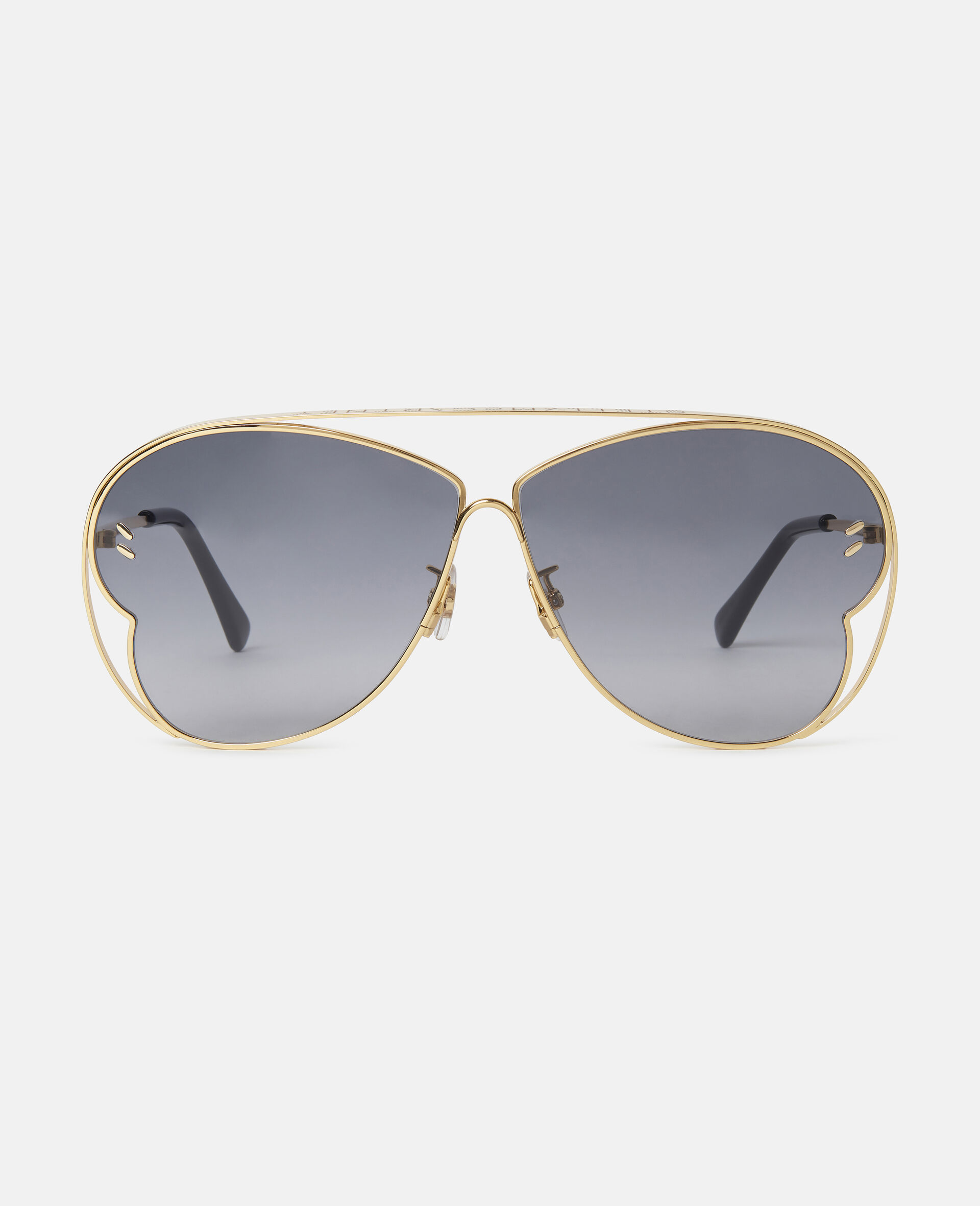 Butterfly Sunglasses-Yellow-large image number 0