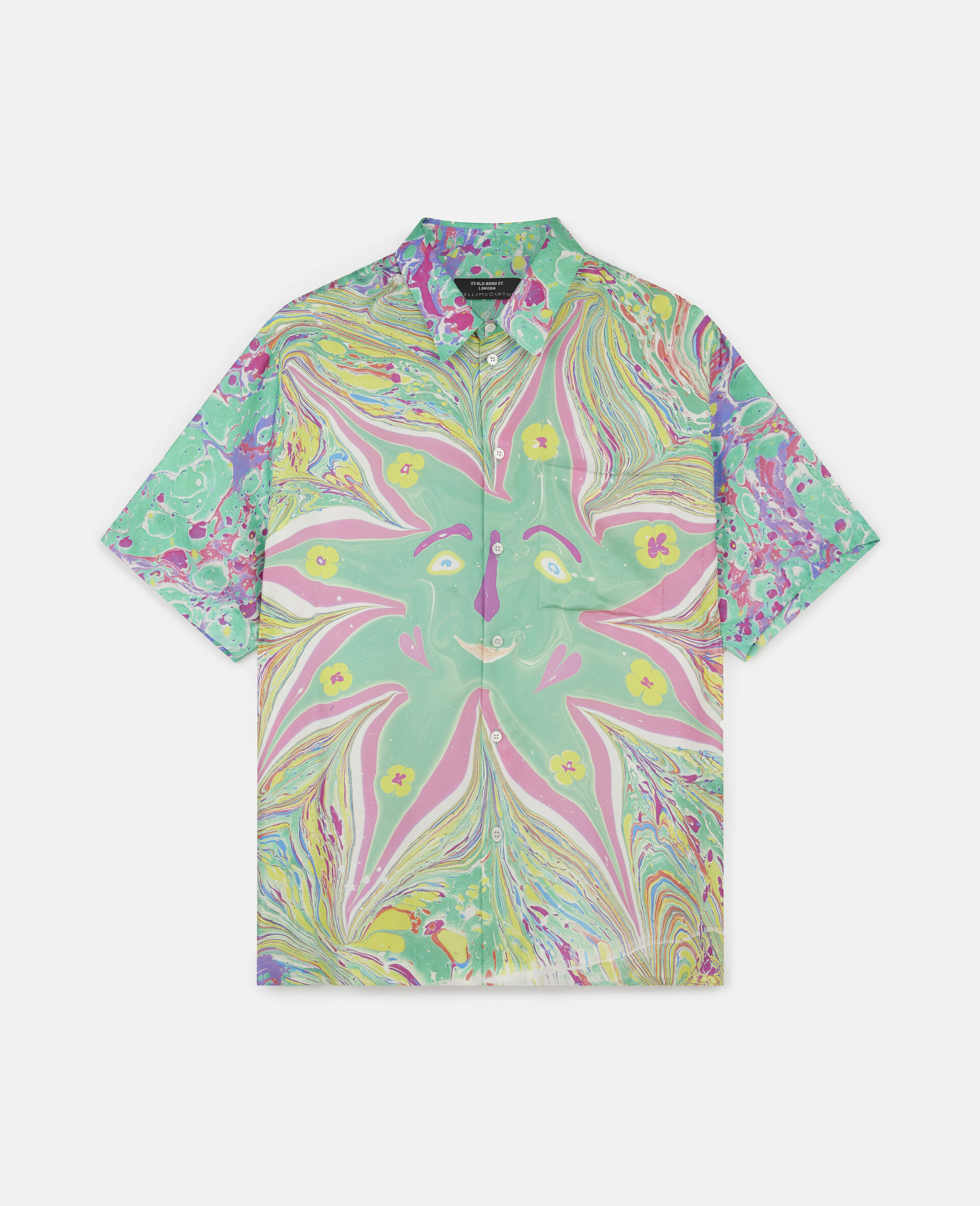 Myfawnwy Printed Silk Shirt-Multicolour-large image number 0