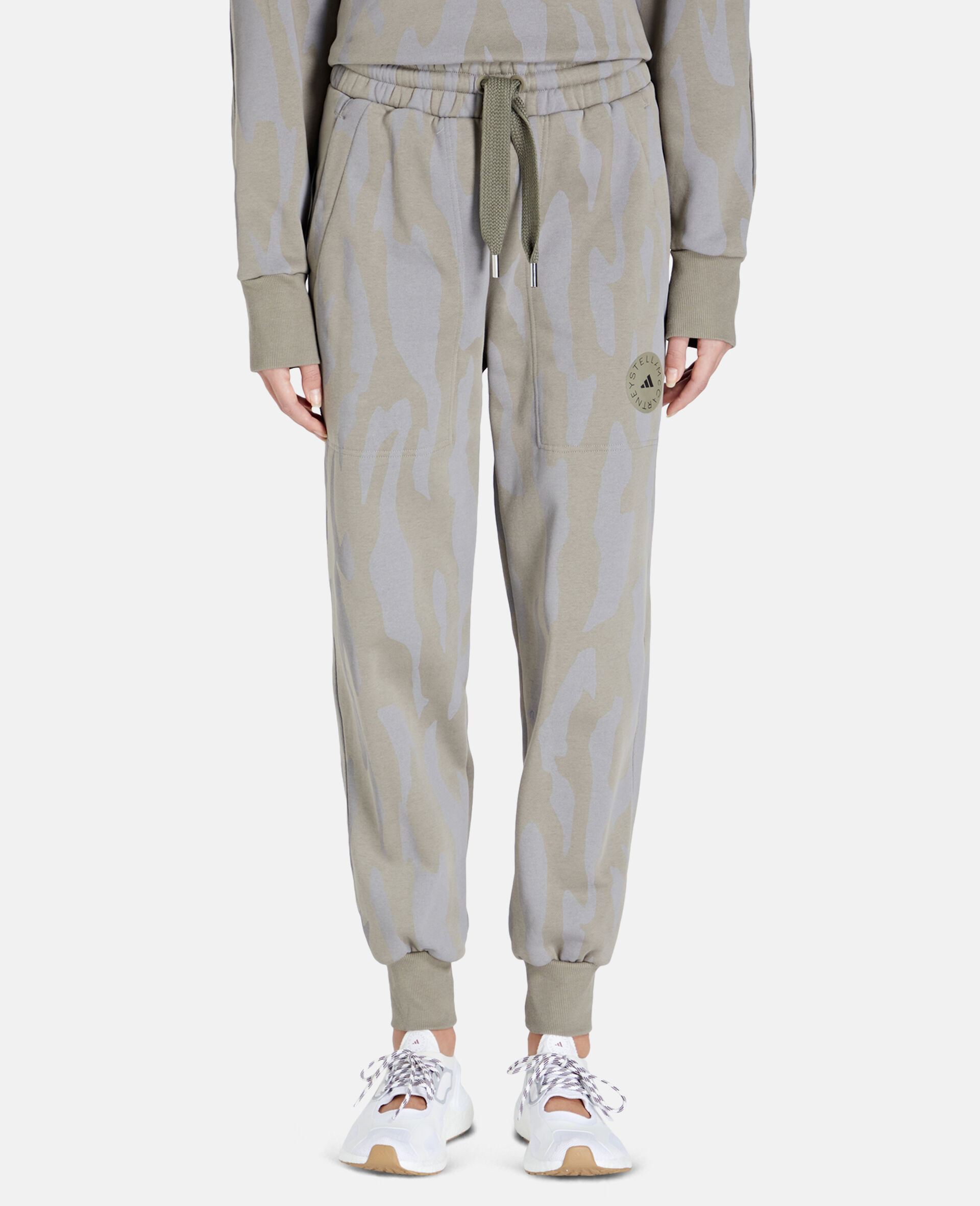 Gray Training Sweatpants-Grey-large image number 4
