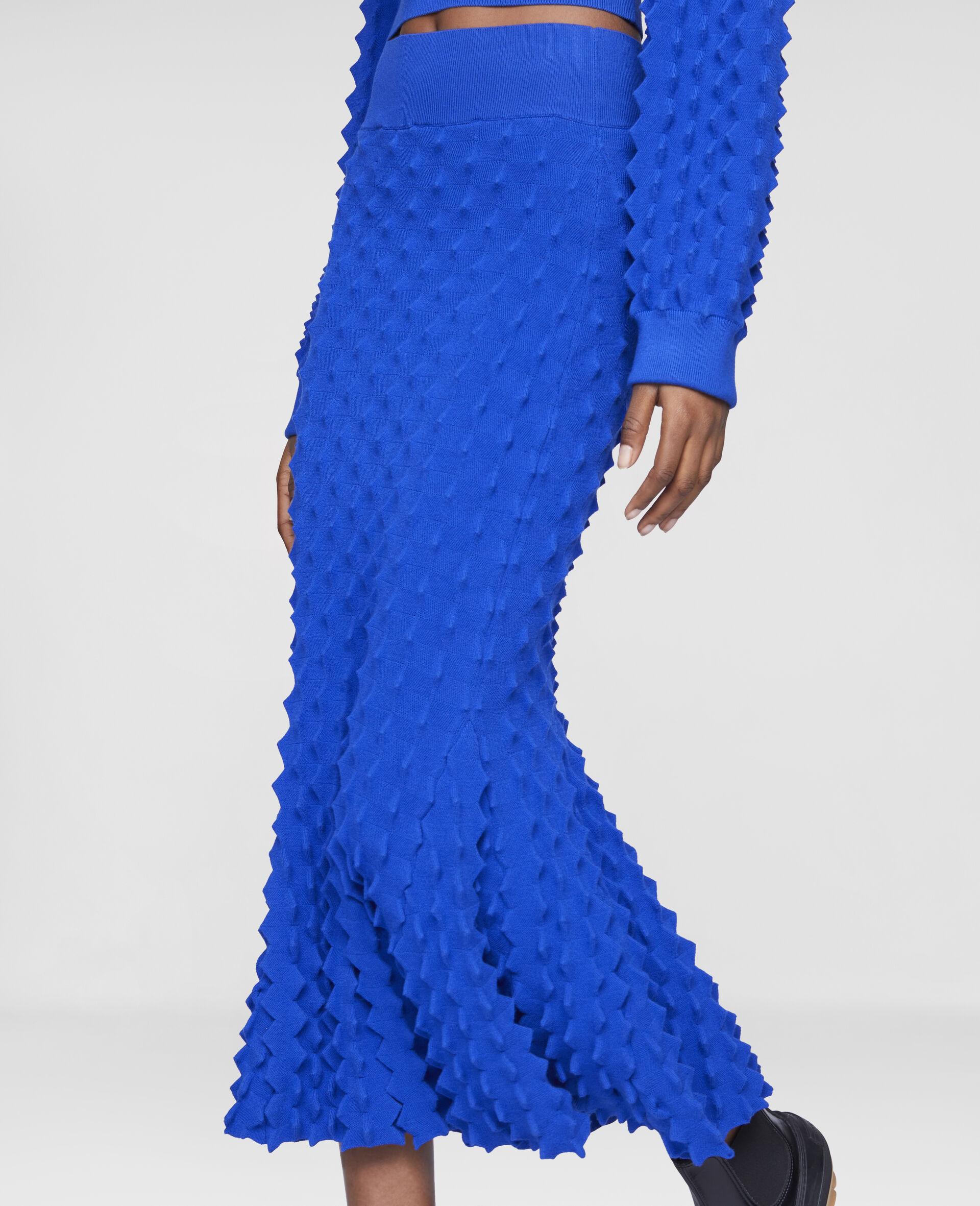 Light Popcorn Skirt-Blue-large image number 3