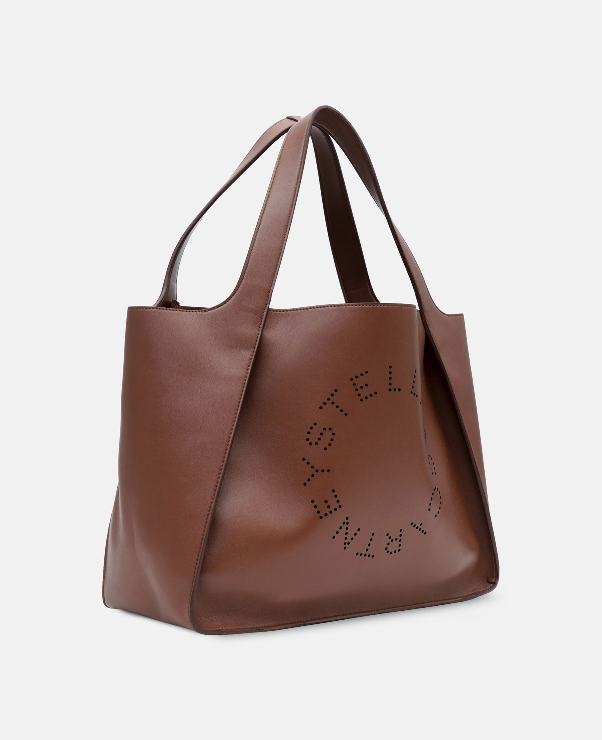 Stella Logo Tote Bag-Brown-large image number 1