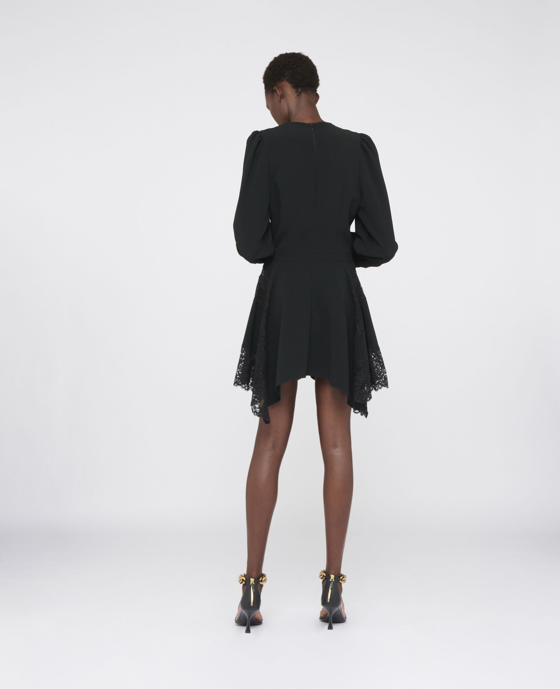 Celeste Mini Dress-Black-large image number 2