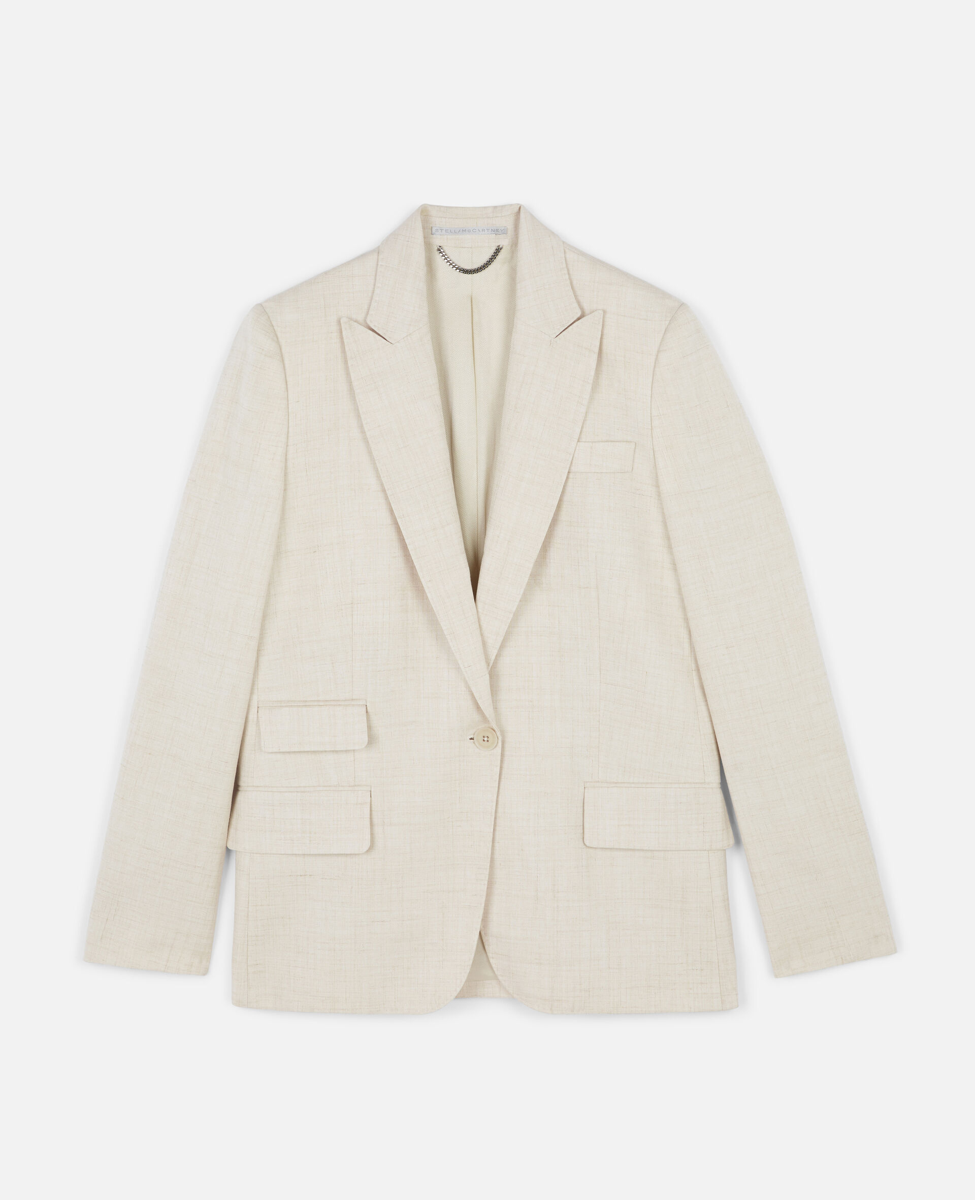 Bell Tailored Jacket-Beige-large image number 0