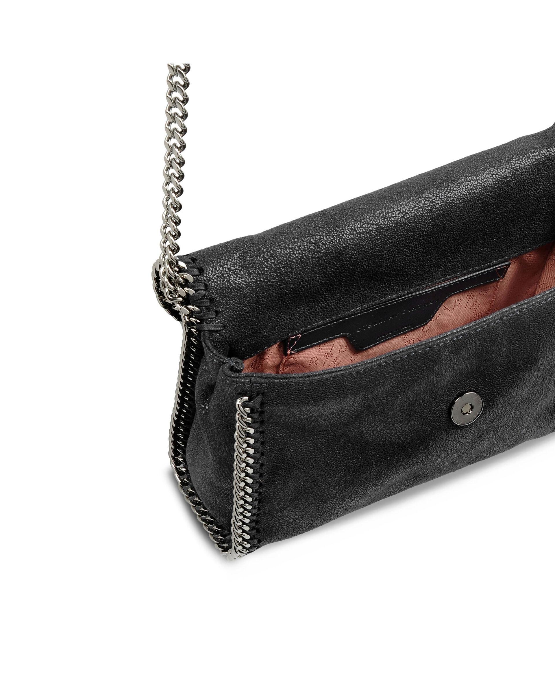 Mini-sac porté épaule Falabella-Noir-large image number 2
