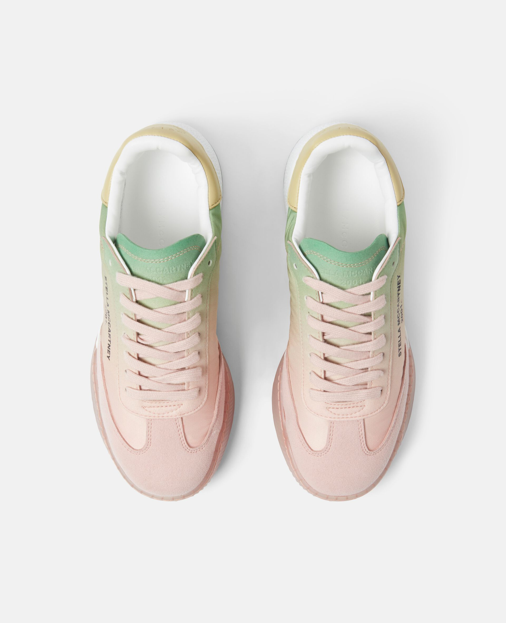 Loop Lace-up Sneakers-Pink-large image number 3