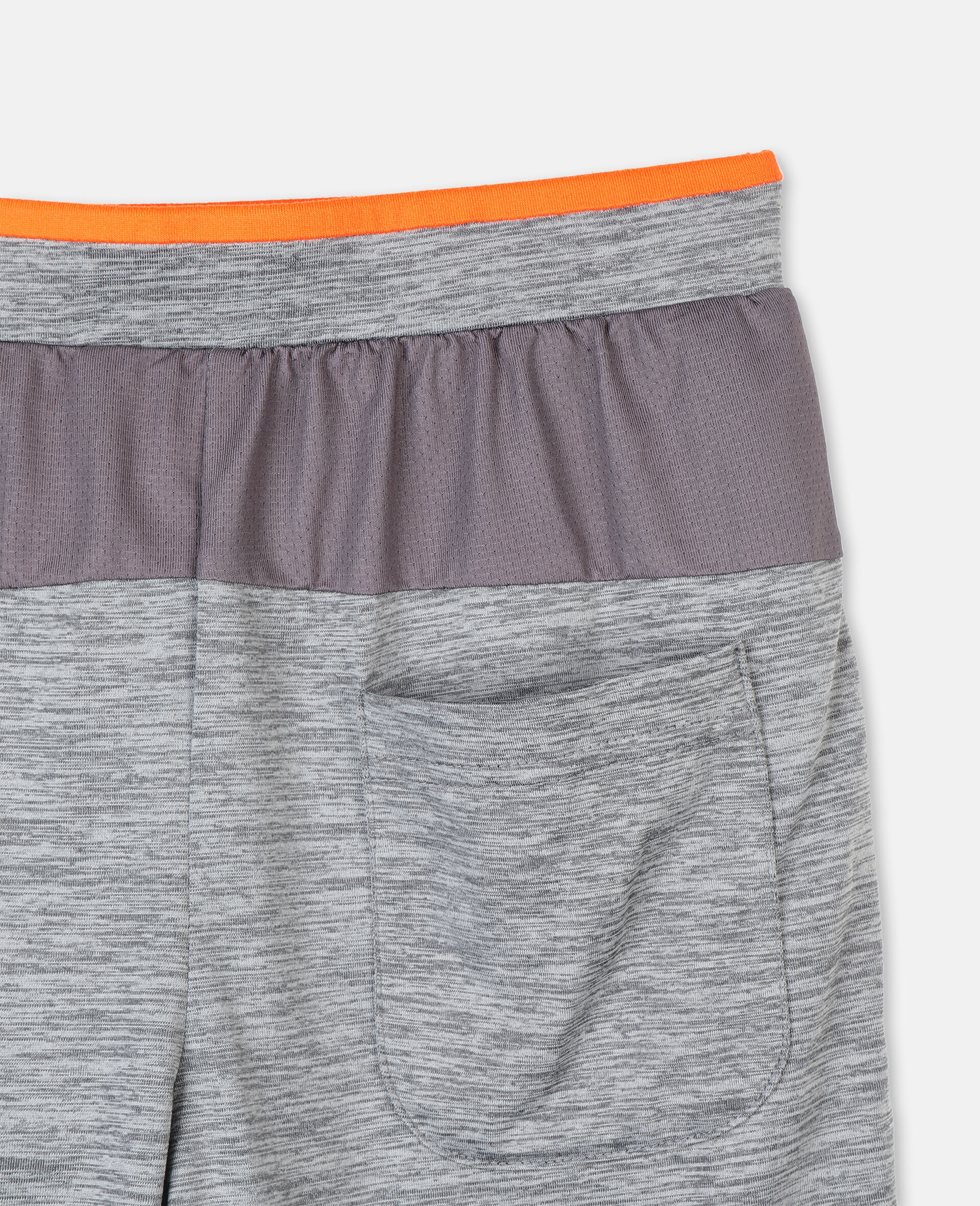 Space Dye Active Shorts -Grey-large image number 2