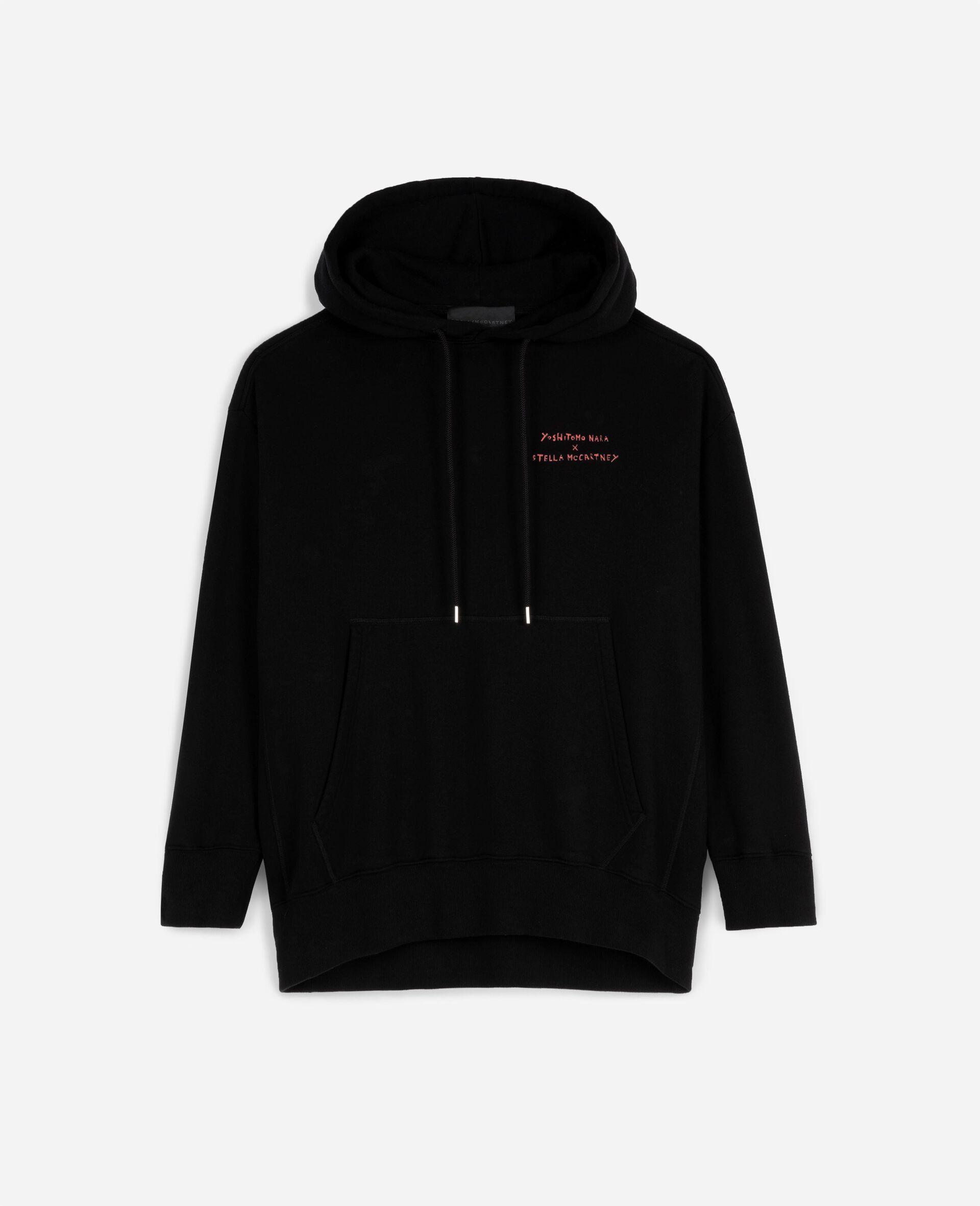 Nara Organic Cotton Hoodie-Black-large image number 0