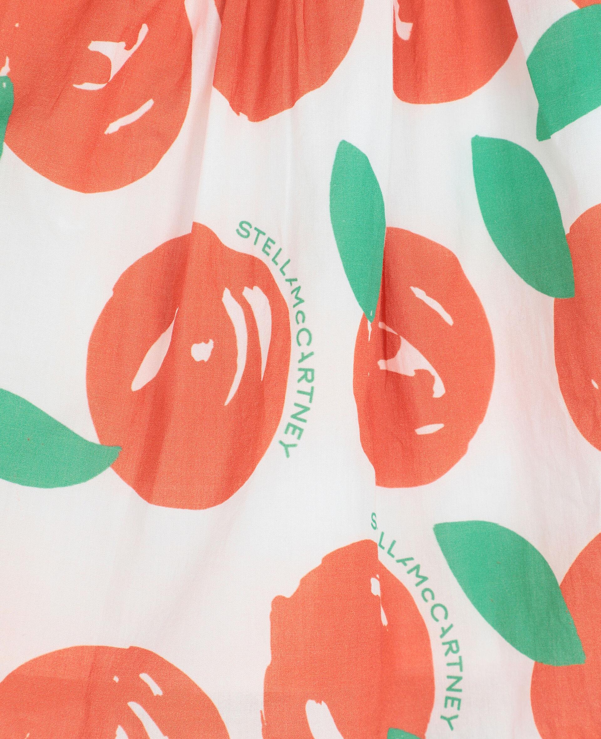 Clementine棉质半身裙 -红色-large image number 2
