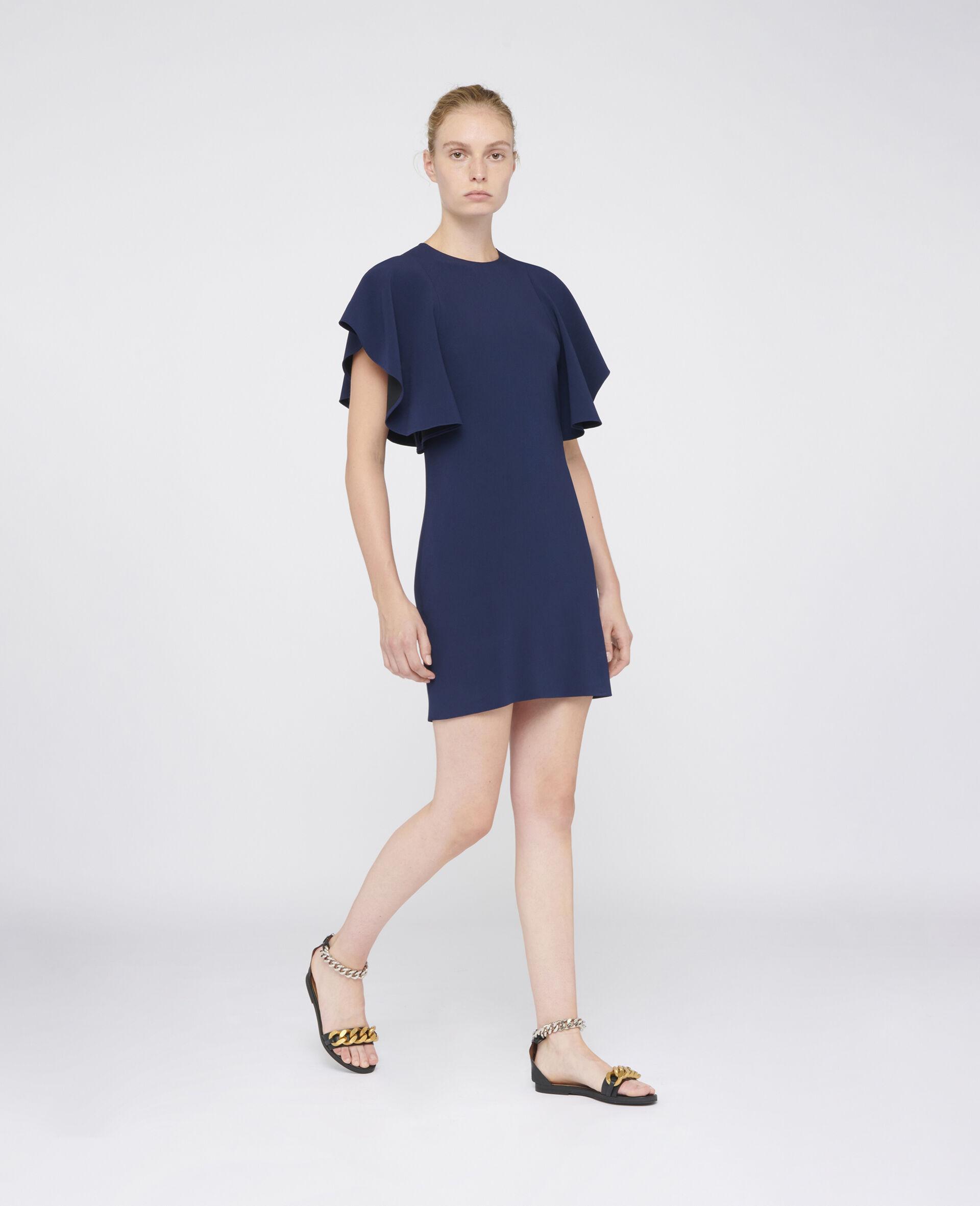 Lana Mini Dress-Blue-large image number 1