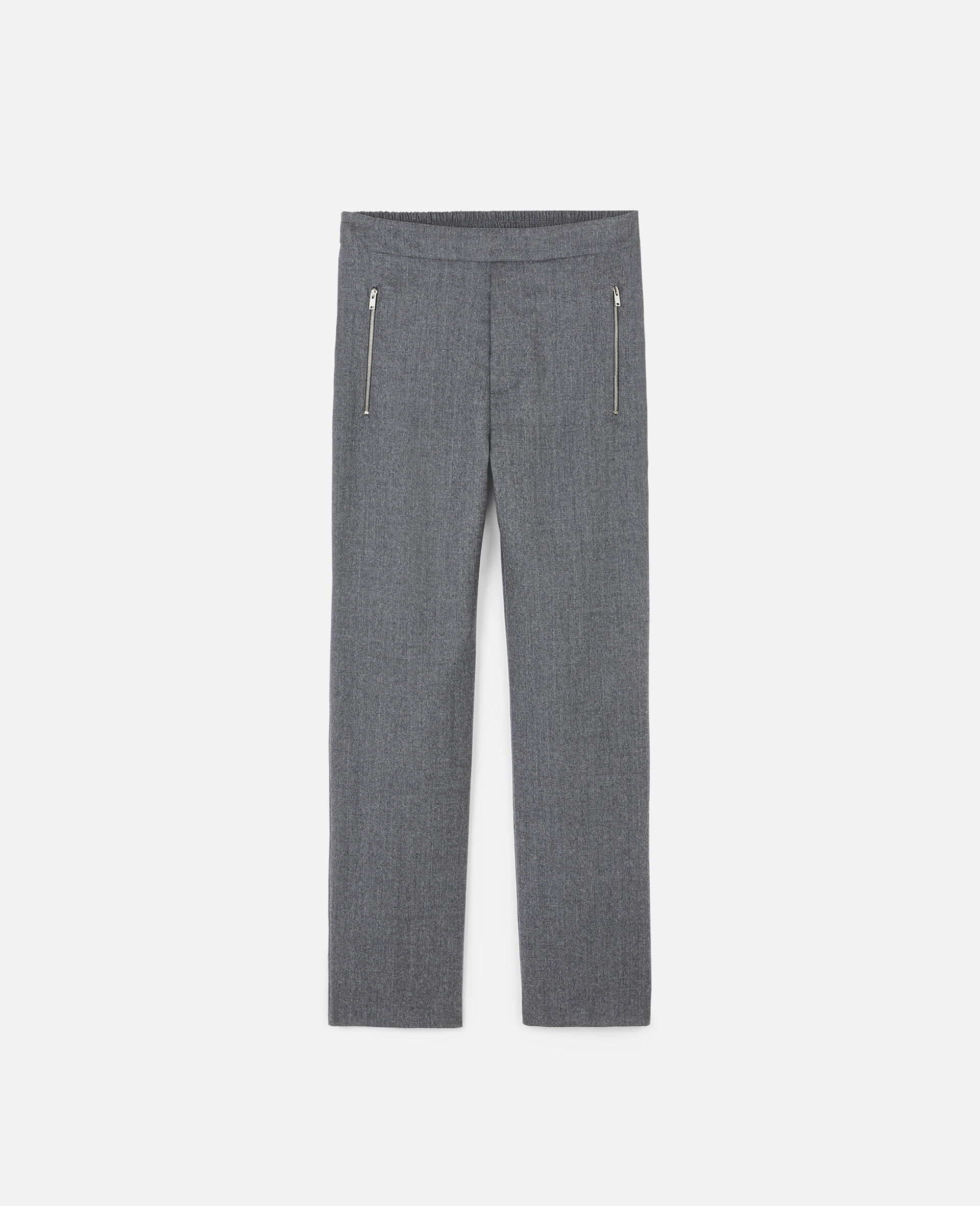 Claire Tailored Trousers-Grey-large image number 0