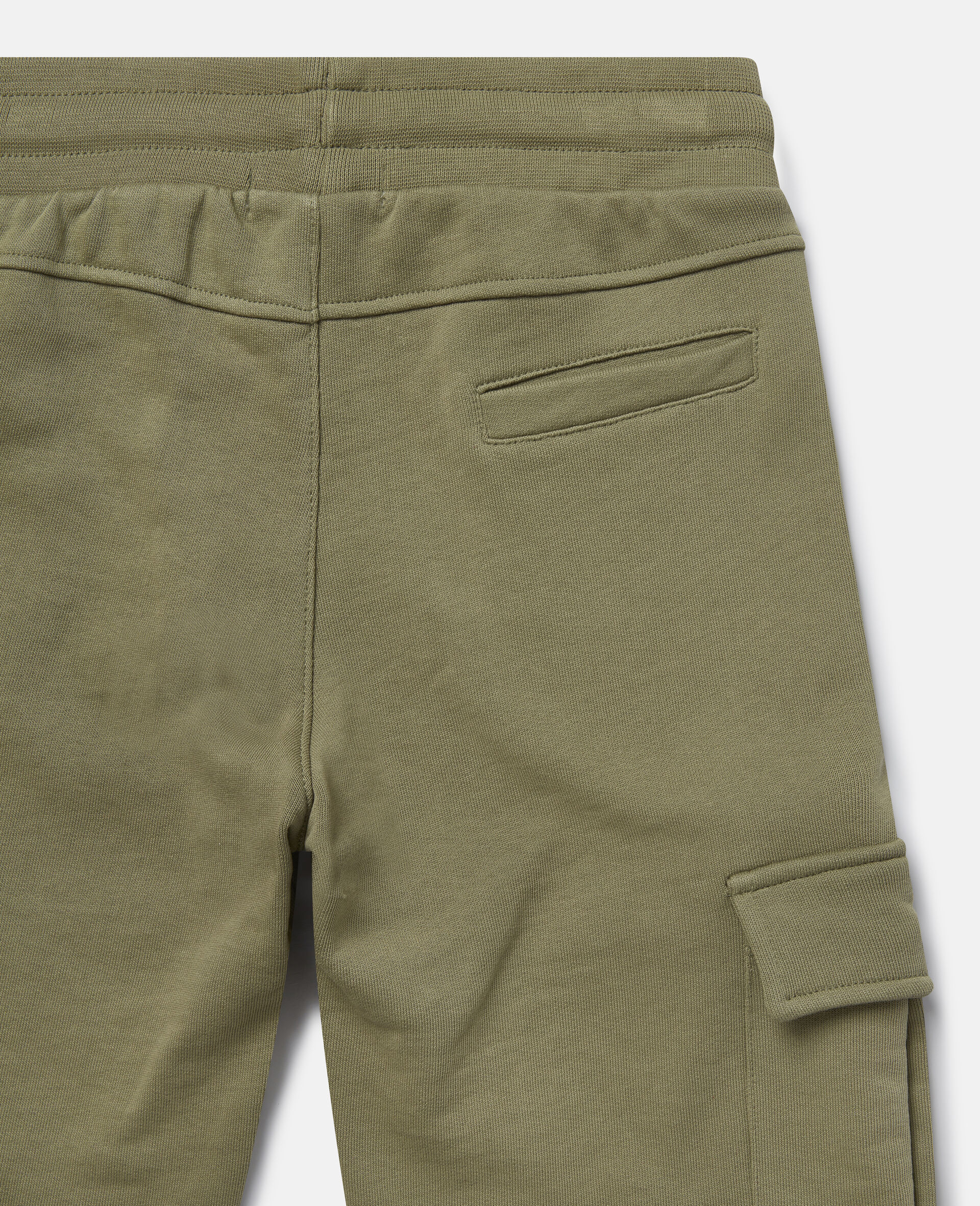 Cargo Fleece Joggers-Green-large image number 1