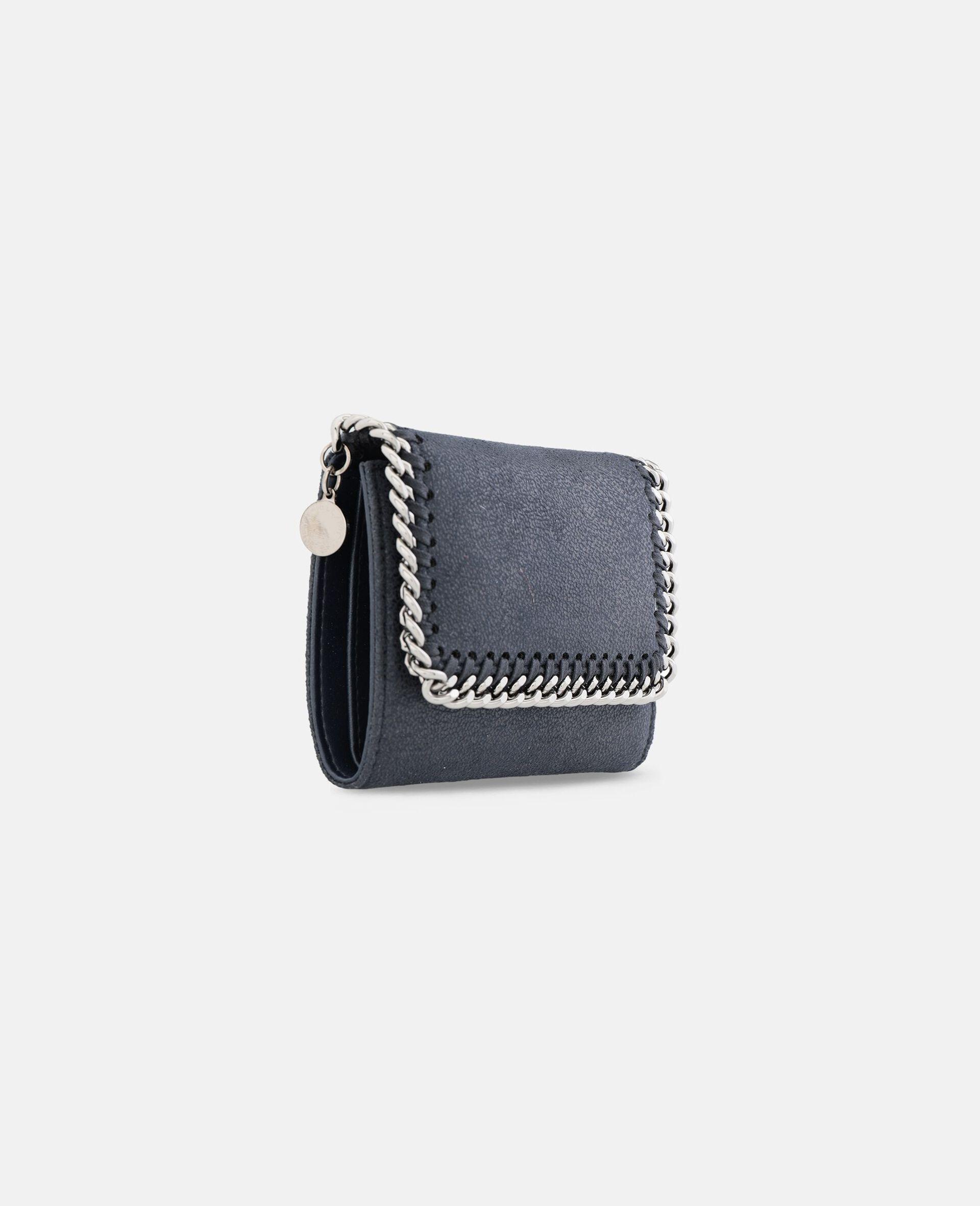 Petit portefeuille à rabat Falabella-Gris-large image number 1