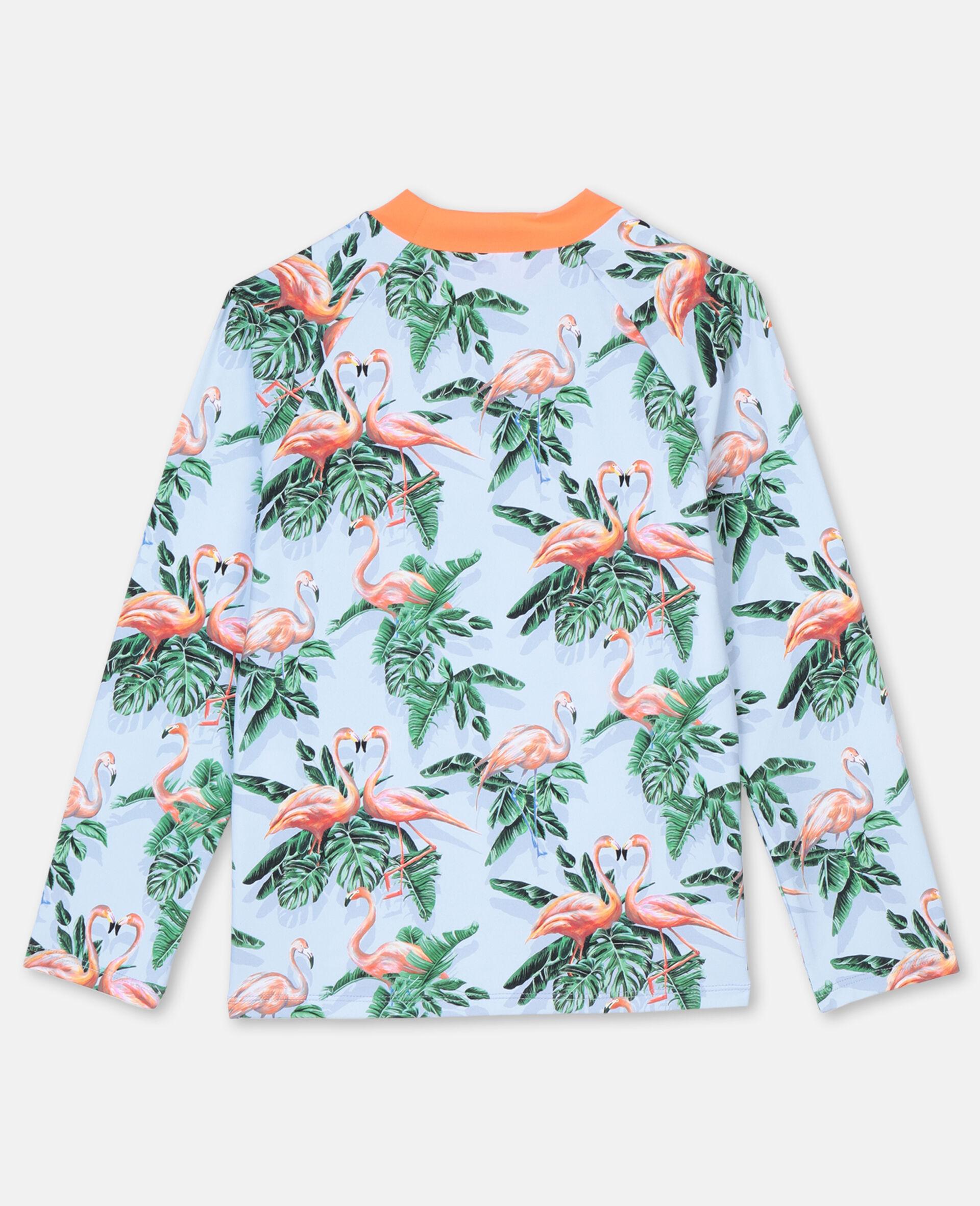 Painty Flamingo游泳T恤 -绿色-large image number 4