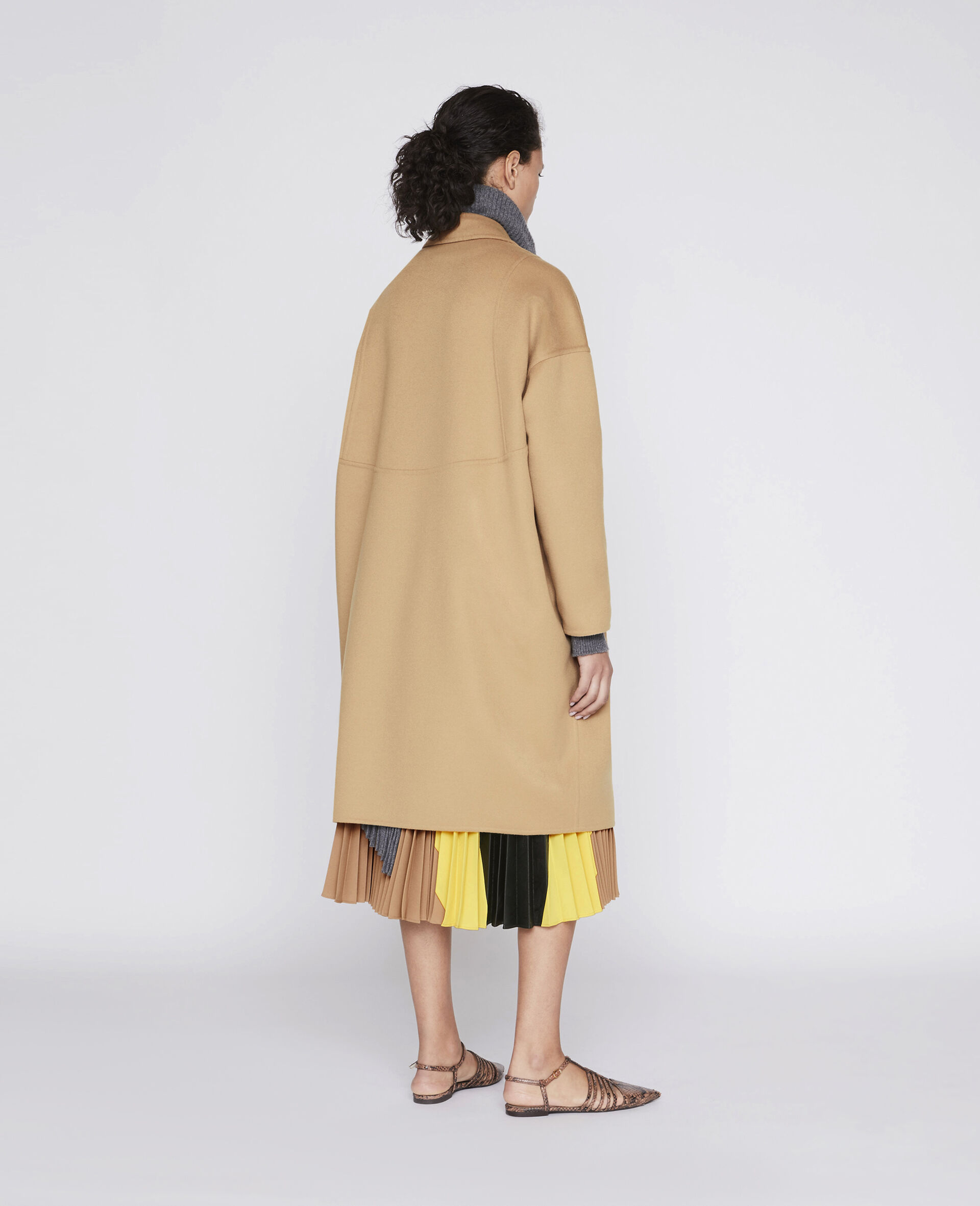 Cappotto Bilpin -Marrone-large image number 2