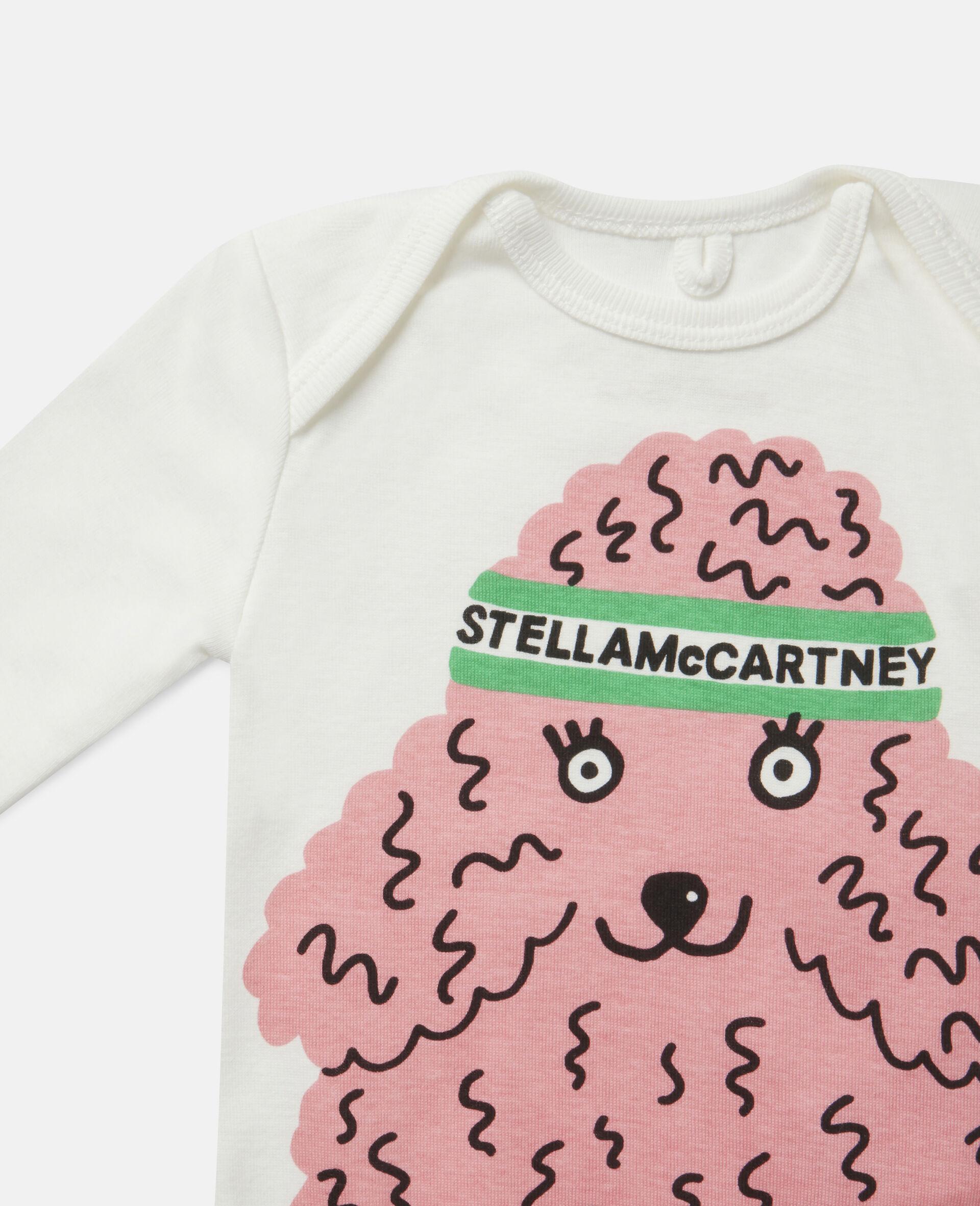 Doodle Poodles Rib Babygrow & Body-Multicolour-large image number 2