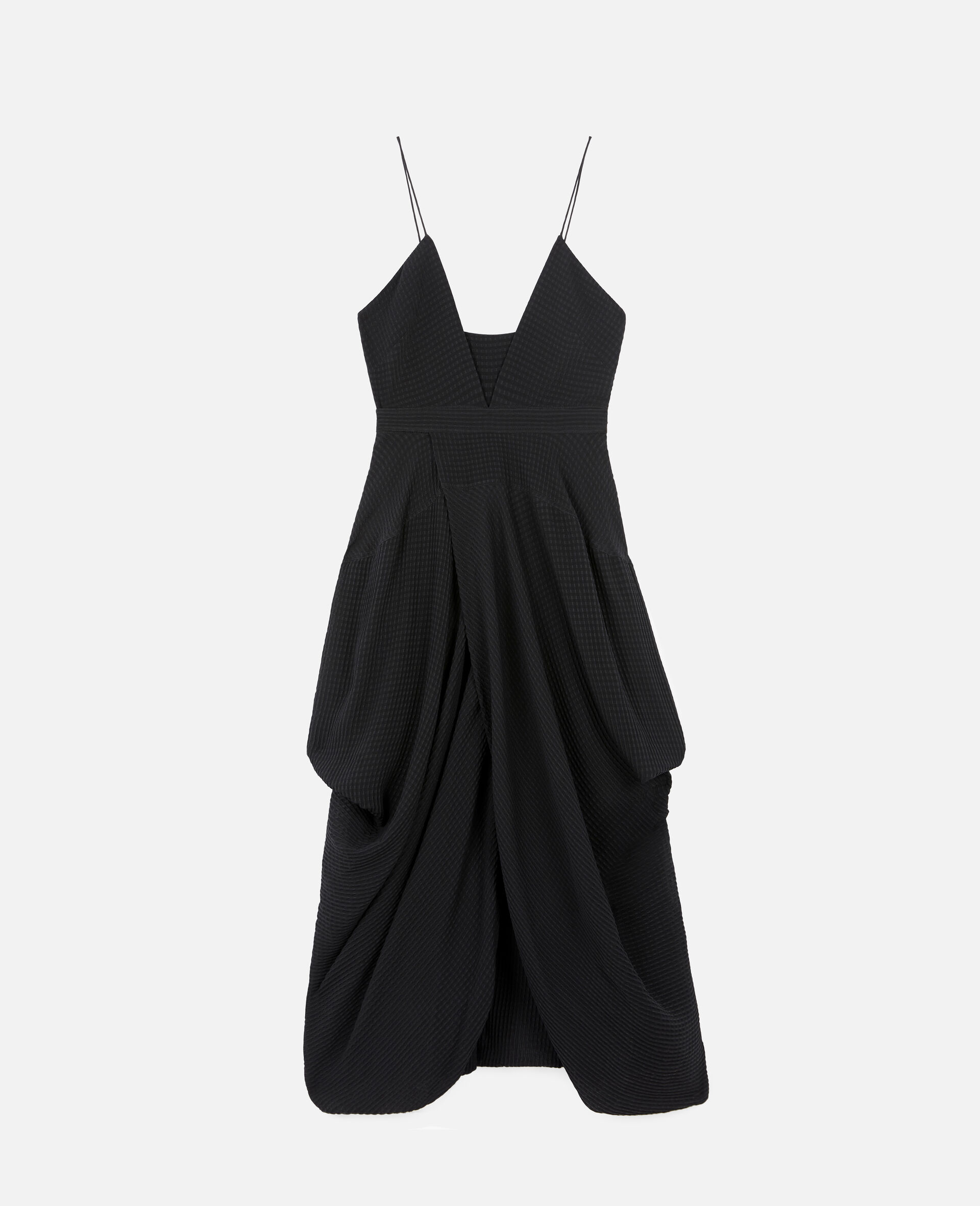 Jenna Silk Dress-Black-large image number 0