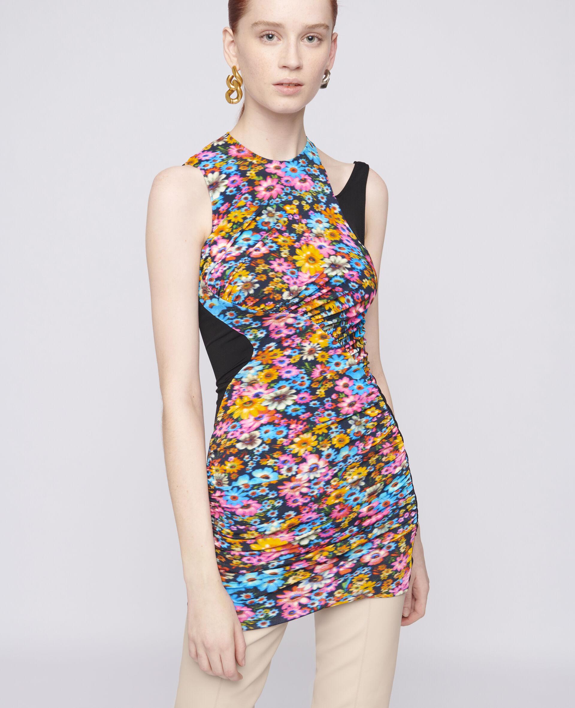 Melissa Mini Dress-Multicolour-large image number 3