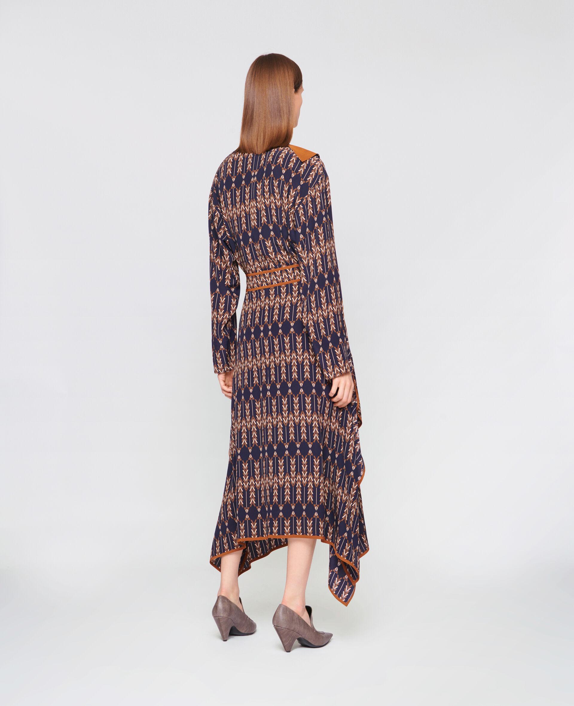 Norah Silk Skirt -Multicolour-large image number 2