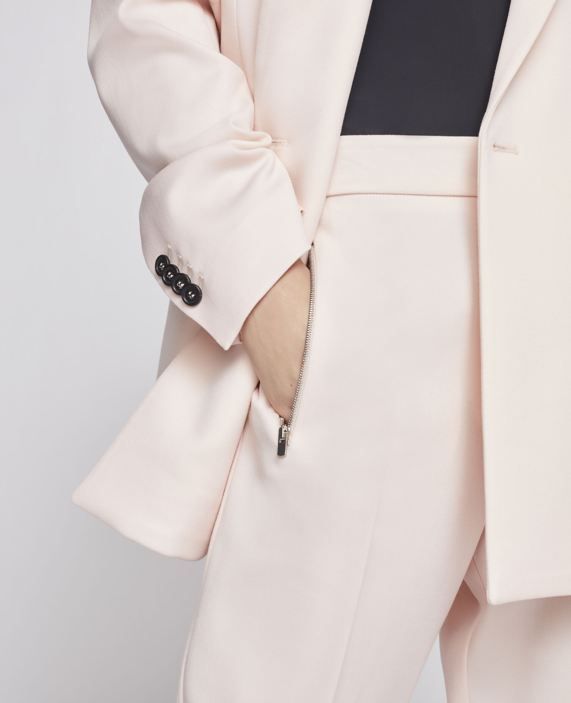 Wool Trousers-Pink-large image number 3