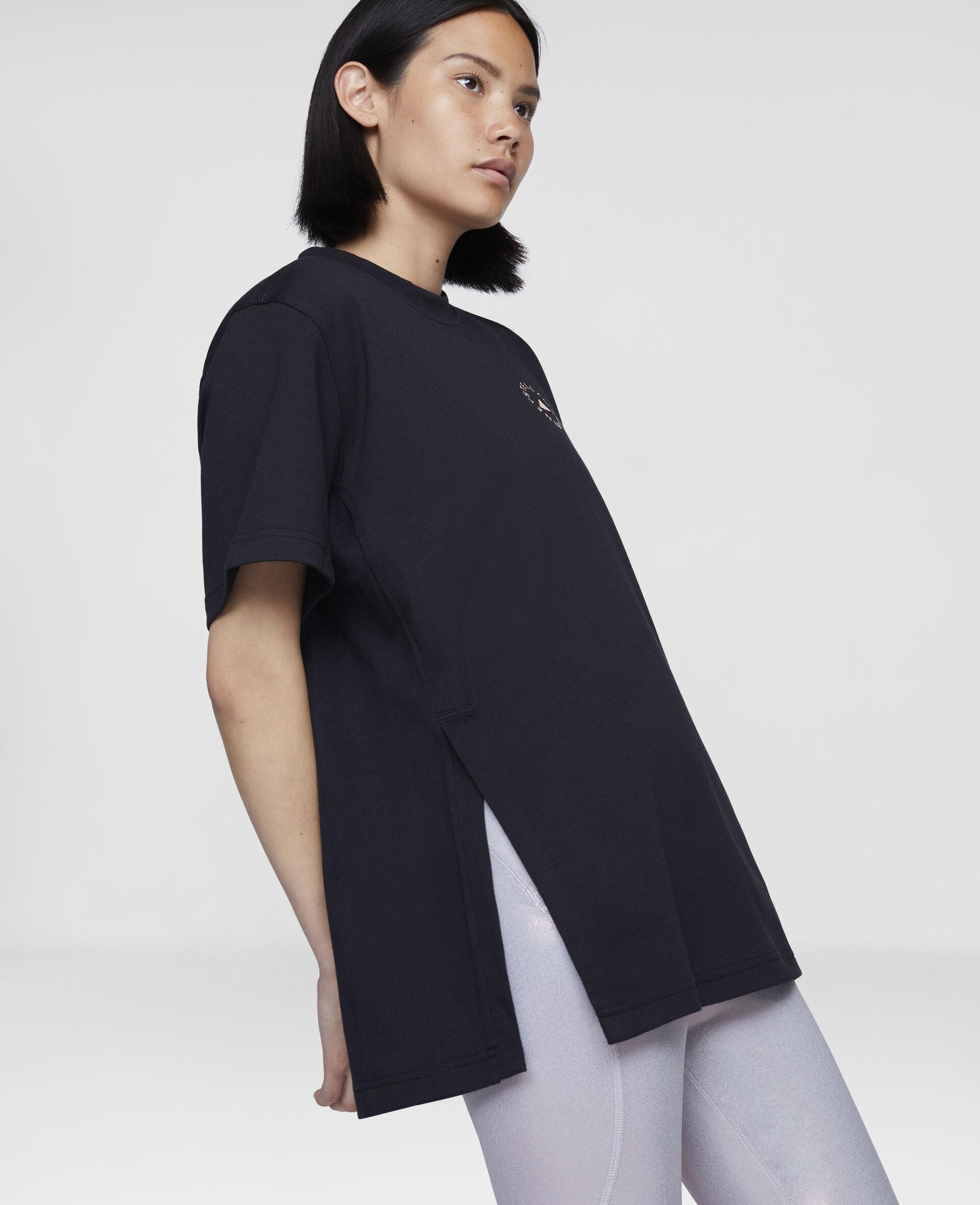 t-shirt d'entraînement noir-Noir-large image number 3