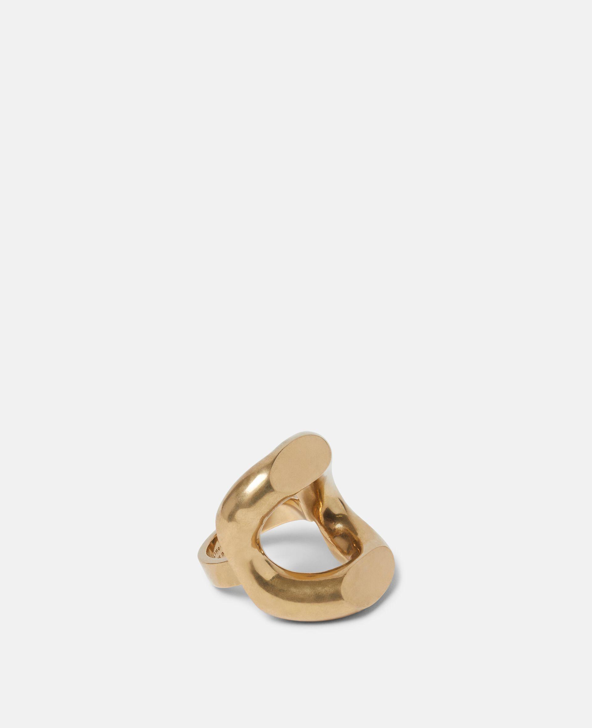 Ring aus Messing-Gelb-large image number 0