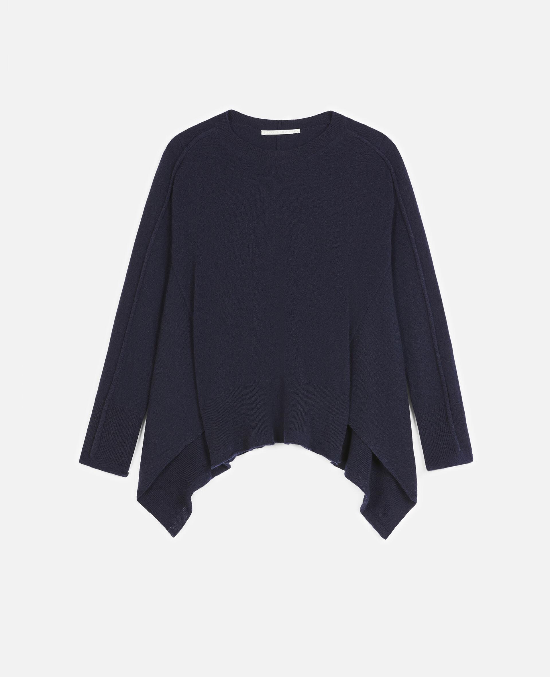 Light Cashmere Jumper-Blue-large image number 0
