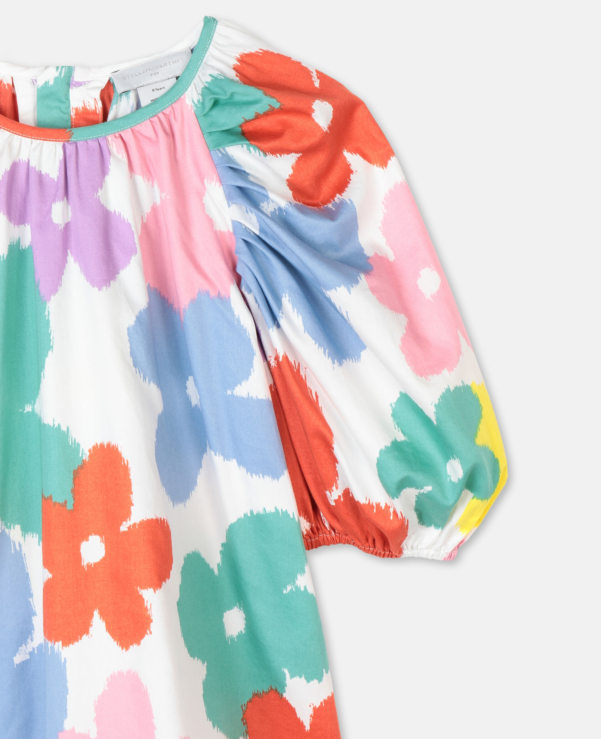 Flowers Cotton Top-Multicolour-large image number 1
