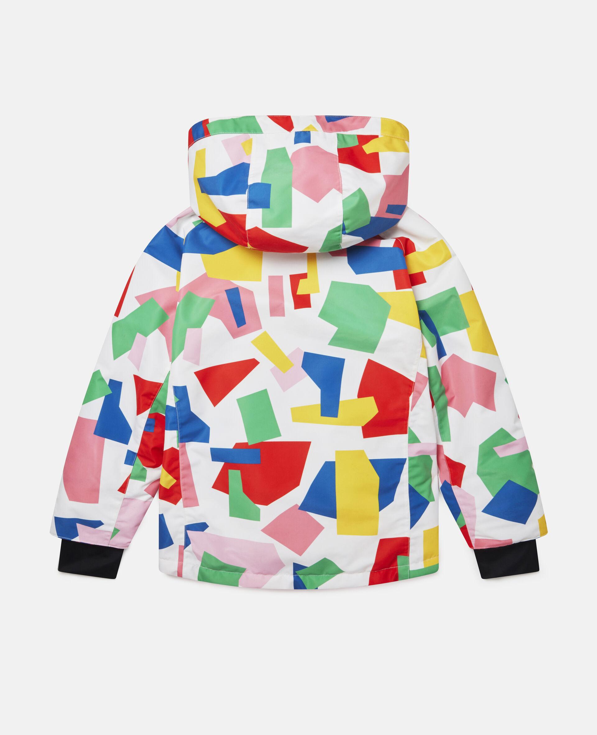 Colorblock Ski Jacket-Multicolour-large image number 3