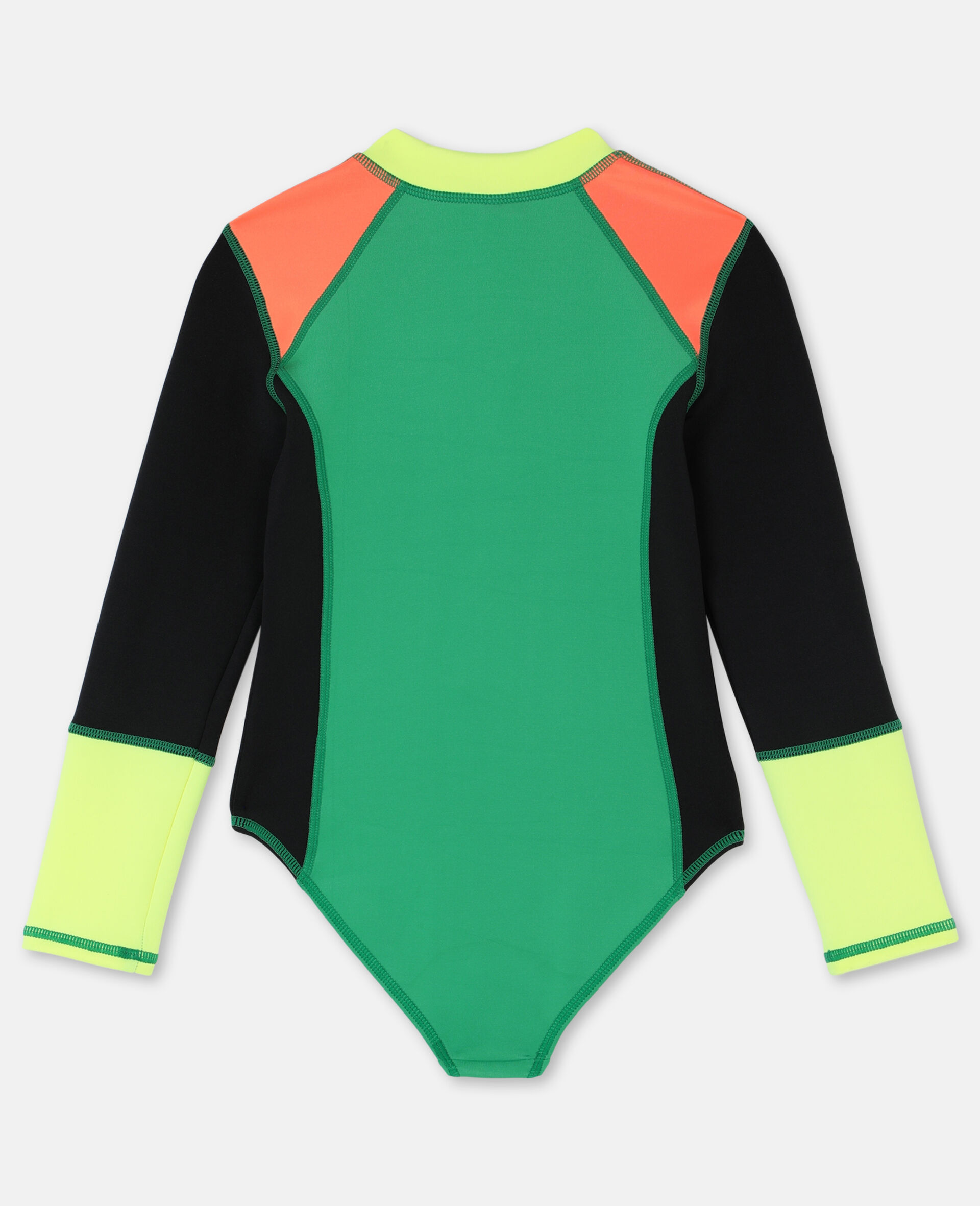 Multicolour Scuba Swimsuit-Multicolour-large image number 4