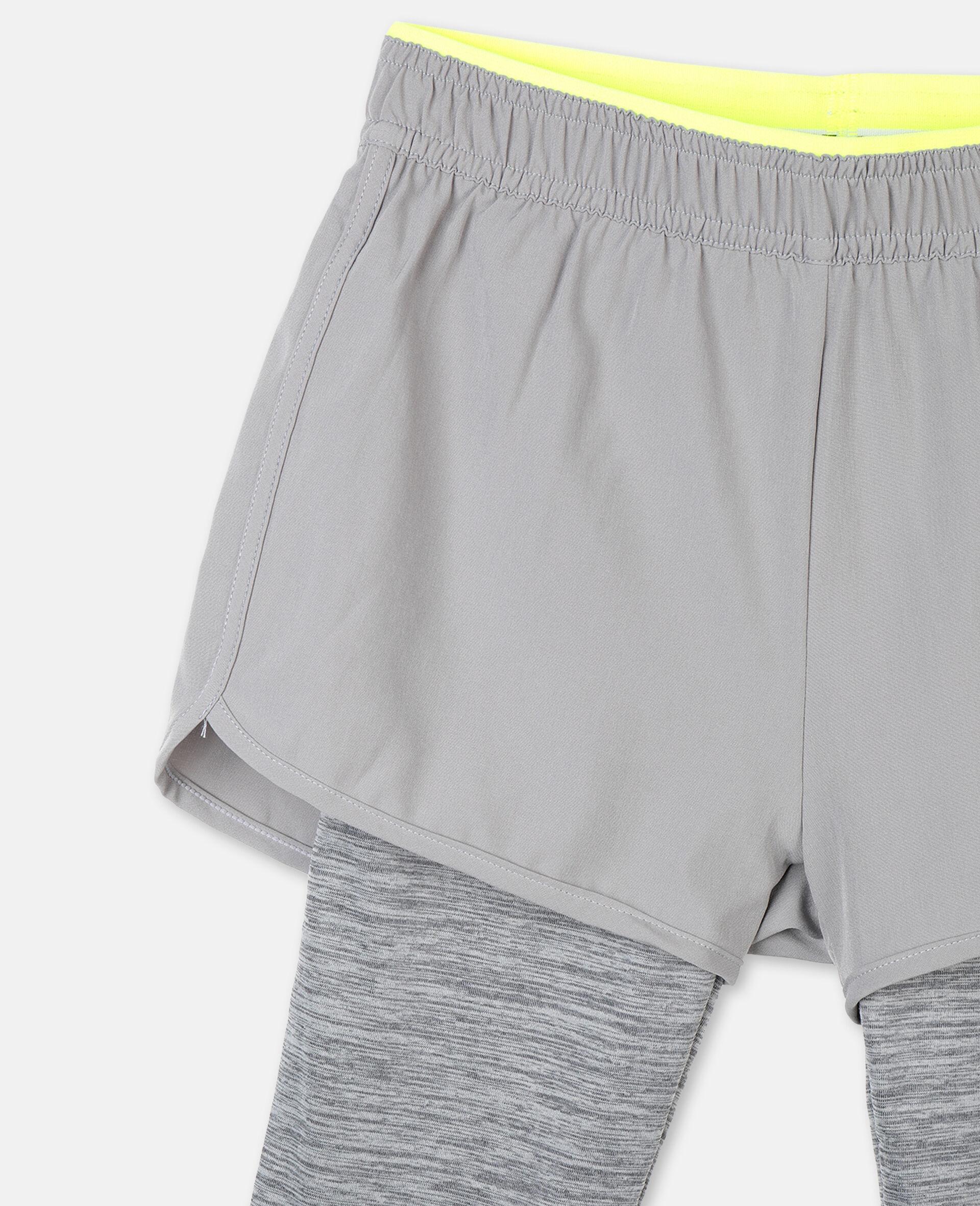 段染运动贴腿裤 -灰色-large image number 1