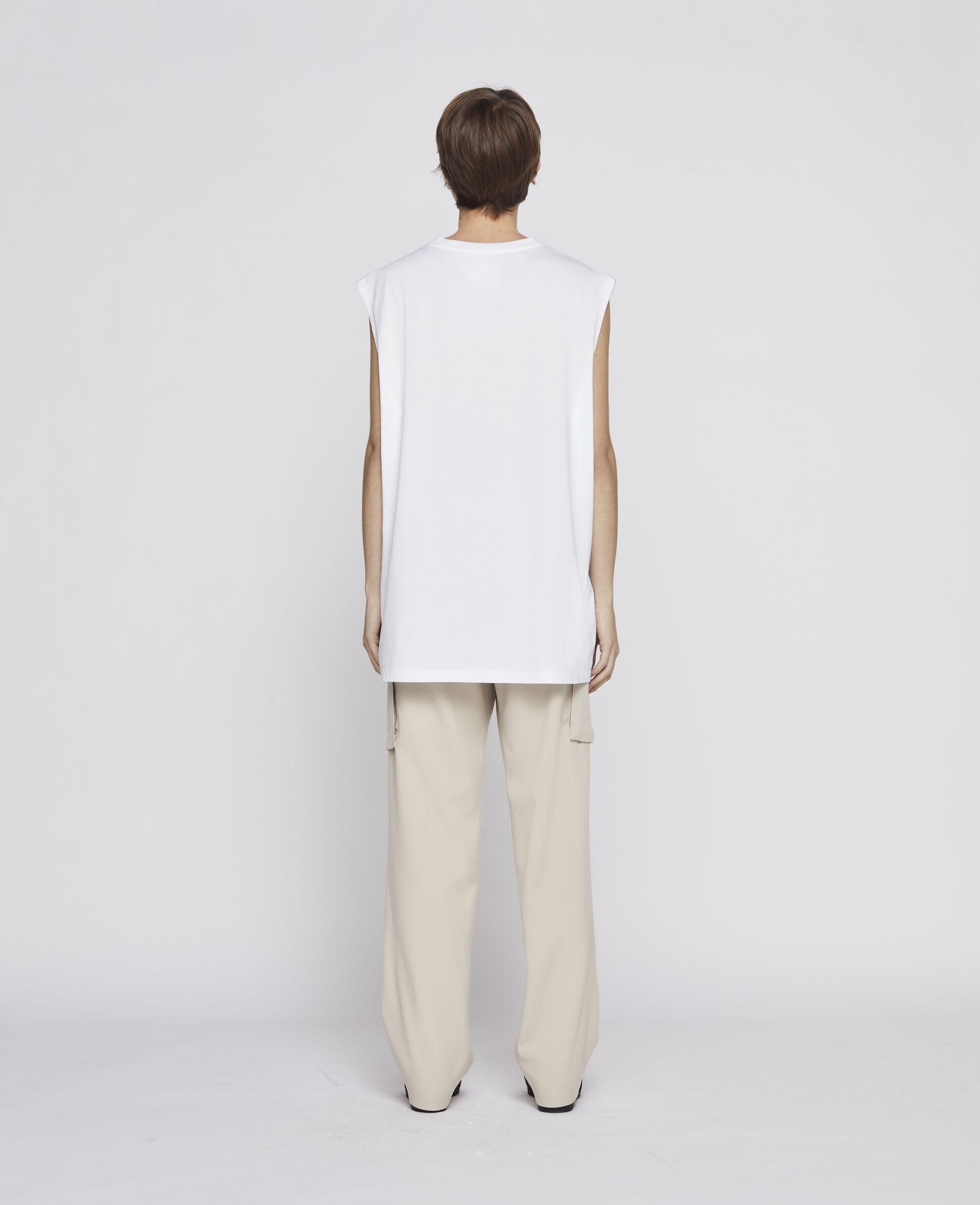 23 OBS Sleevless T-shirt-Black-large image number 2
