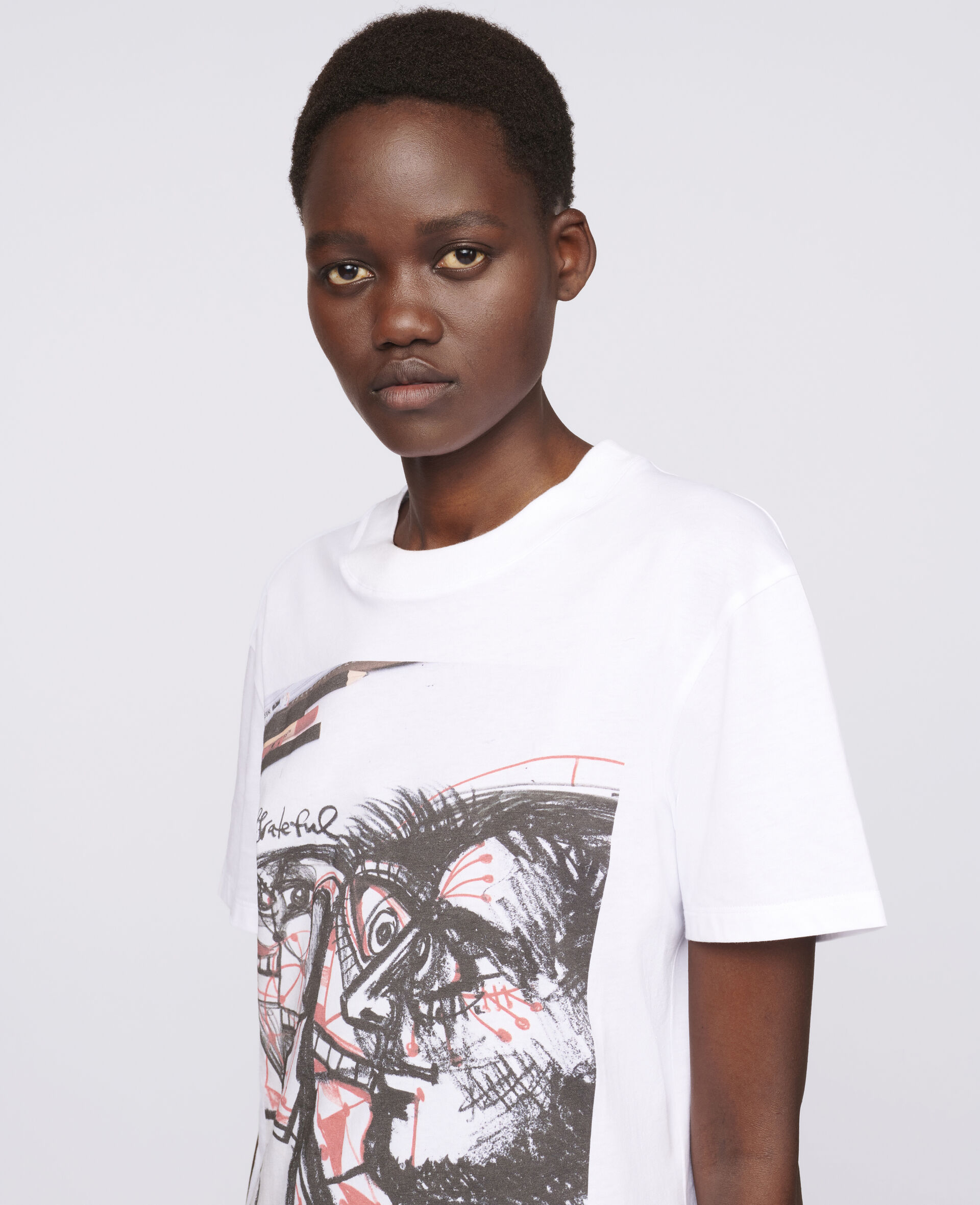 """George Condo """"G"""" T-shirt-White-large image number 3"""