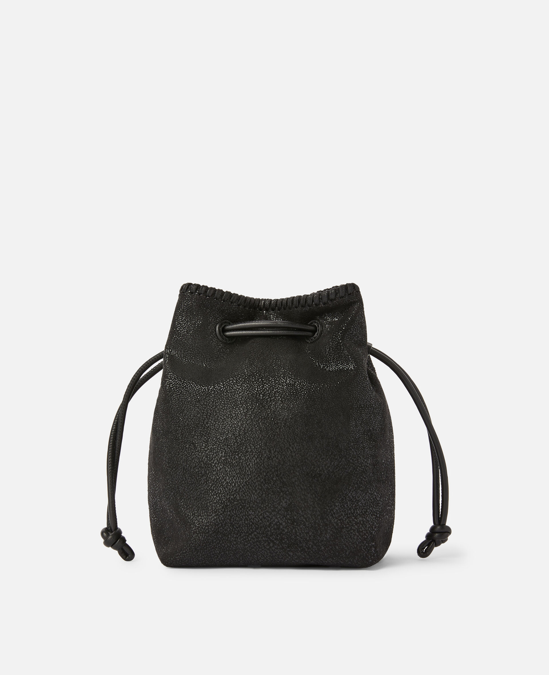 Falabella Micro Bucket Tote -Black-large image number 2